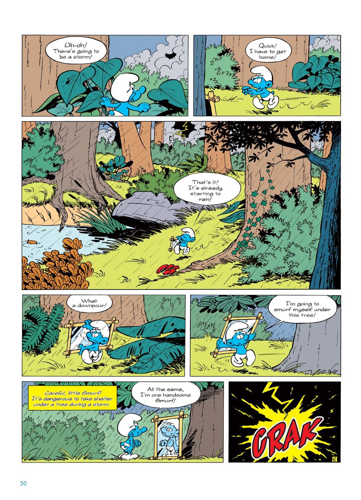 Read online The Smurfs comic -  Issue #5 - 50