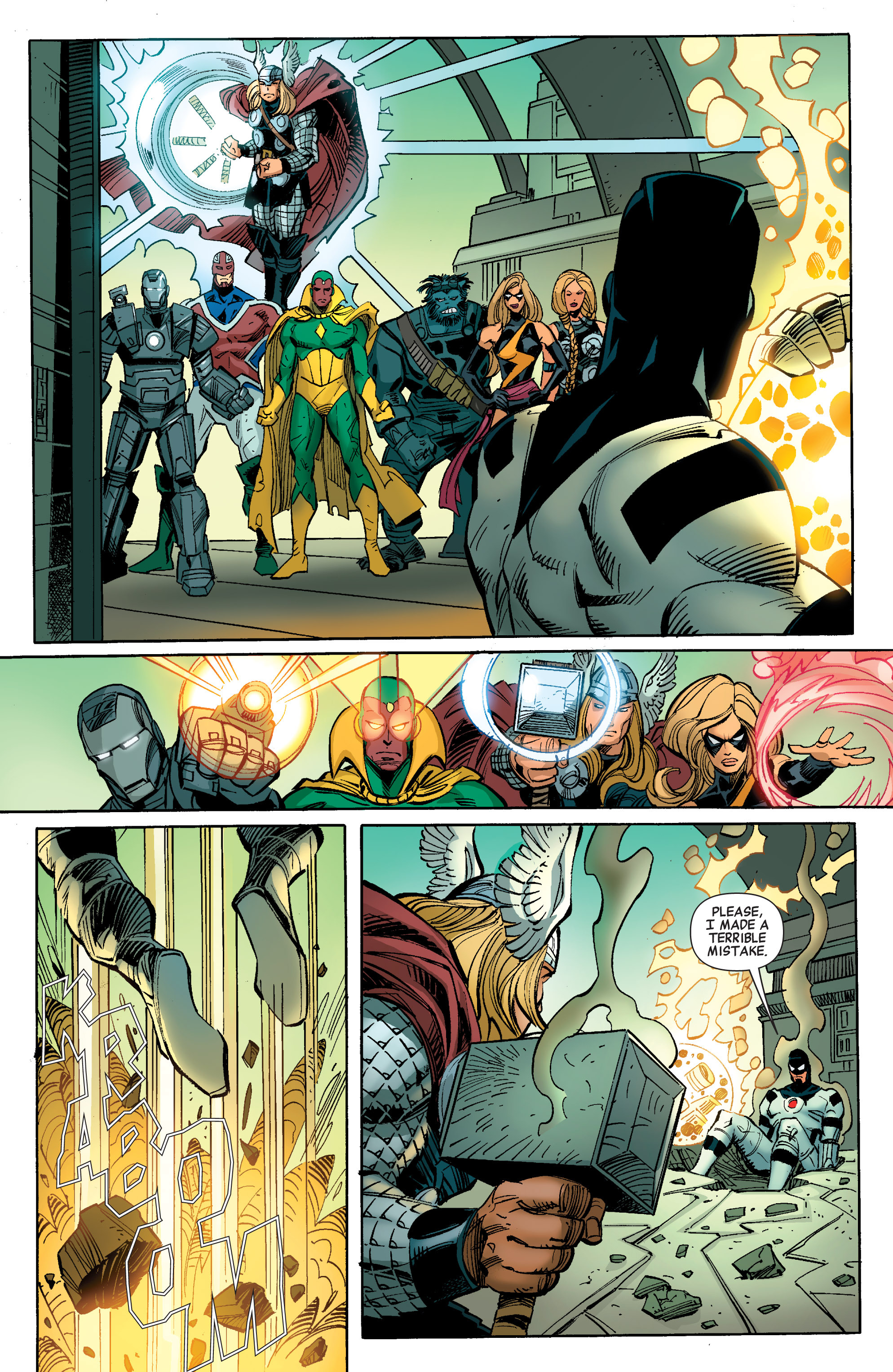 Read online Avengers (2010) comic -  Issue #27 - 16