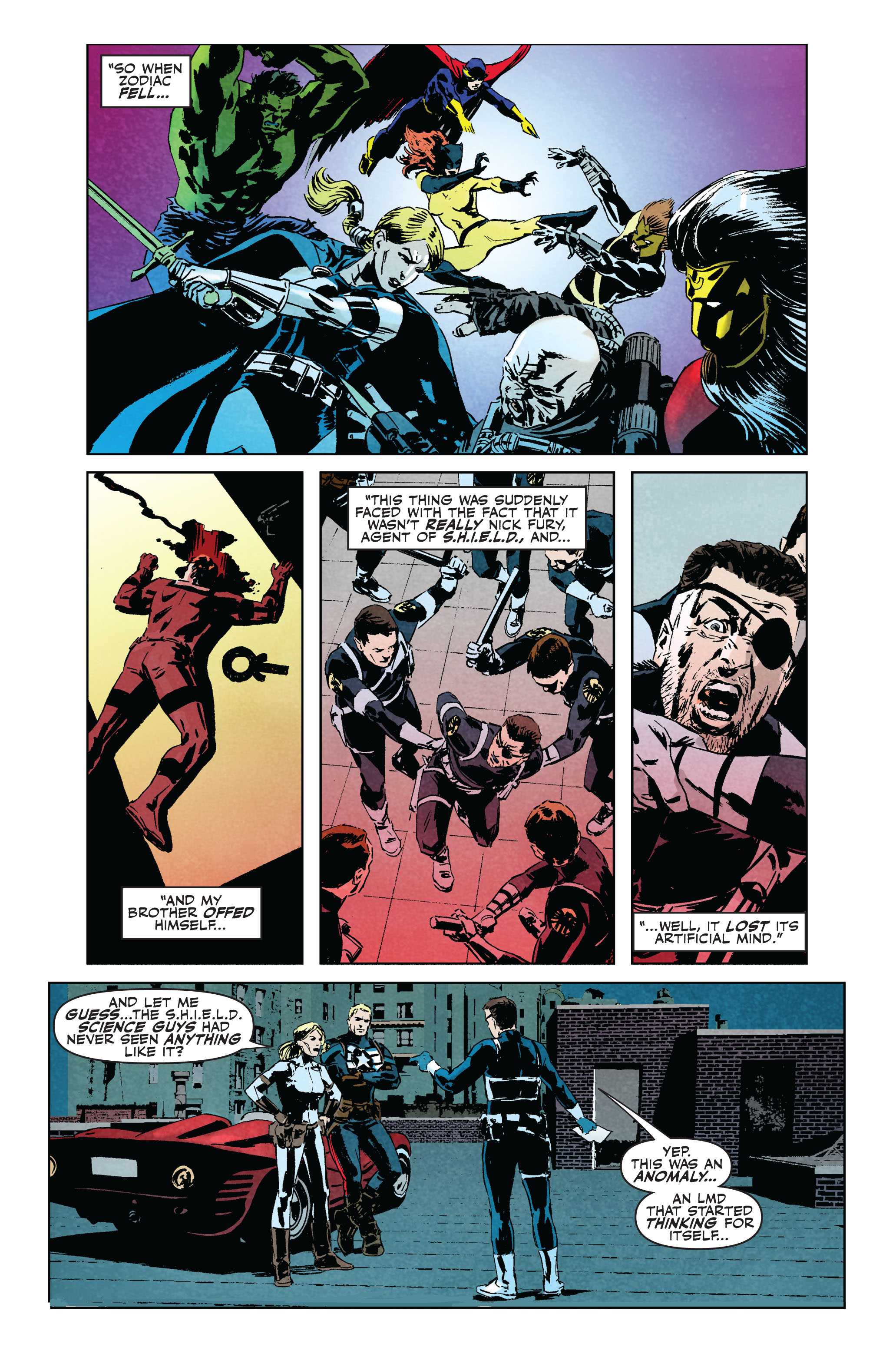 Read online Secret Avengers (2010) comic -  Issue #5 - 10