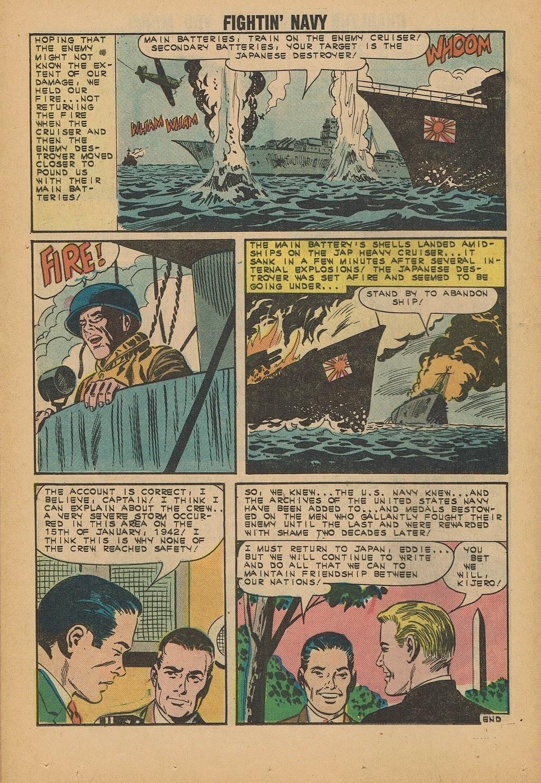 Read online Fightin' Navy comic -  Issue #112 - 20
