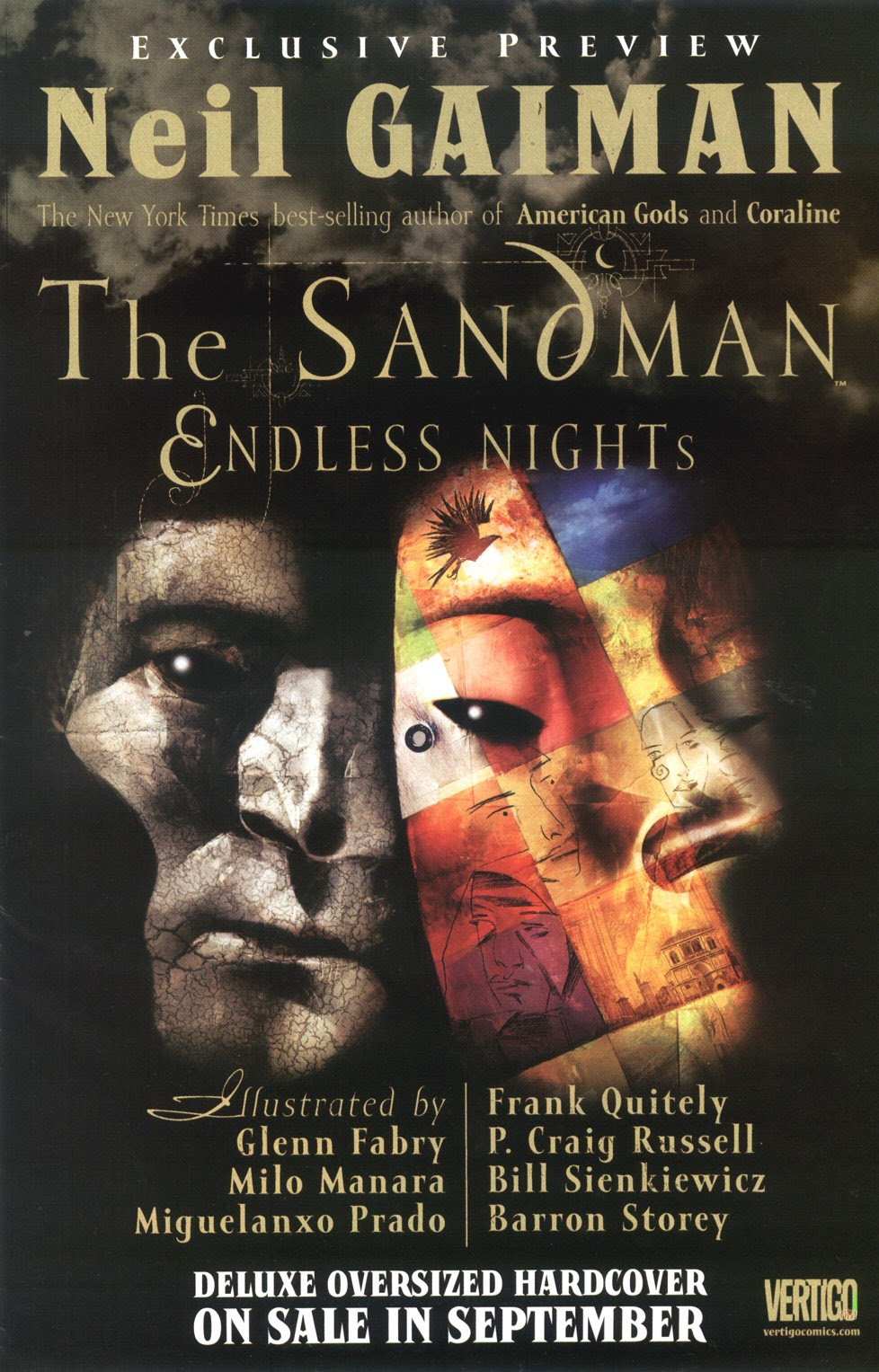 Read online The Sandman: Endless Nights comic -  Issue # _Preview - 1