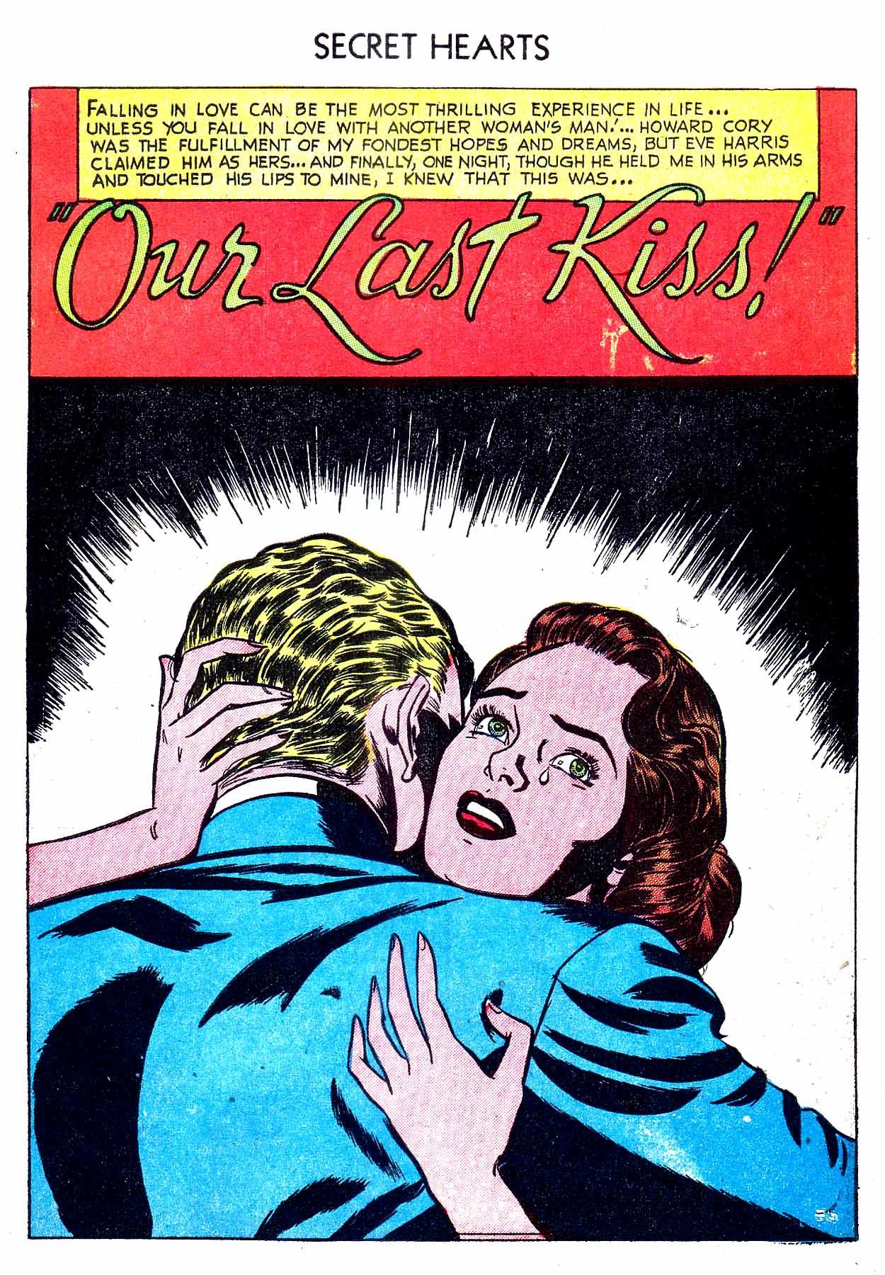 Read online Secret Hearts comic -  Issue #8 - 27