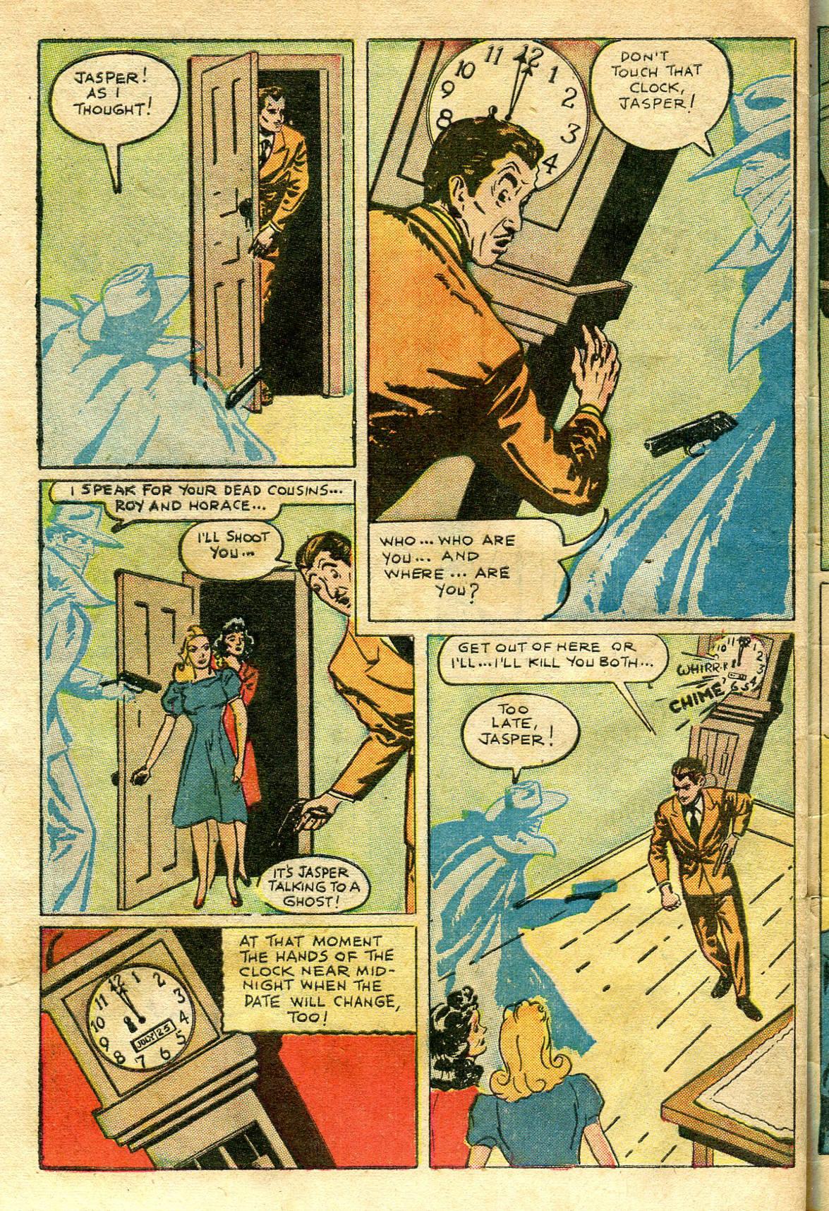 Read online Shadow Comics comic -  Issue #65 - 48
