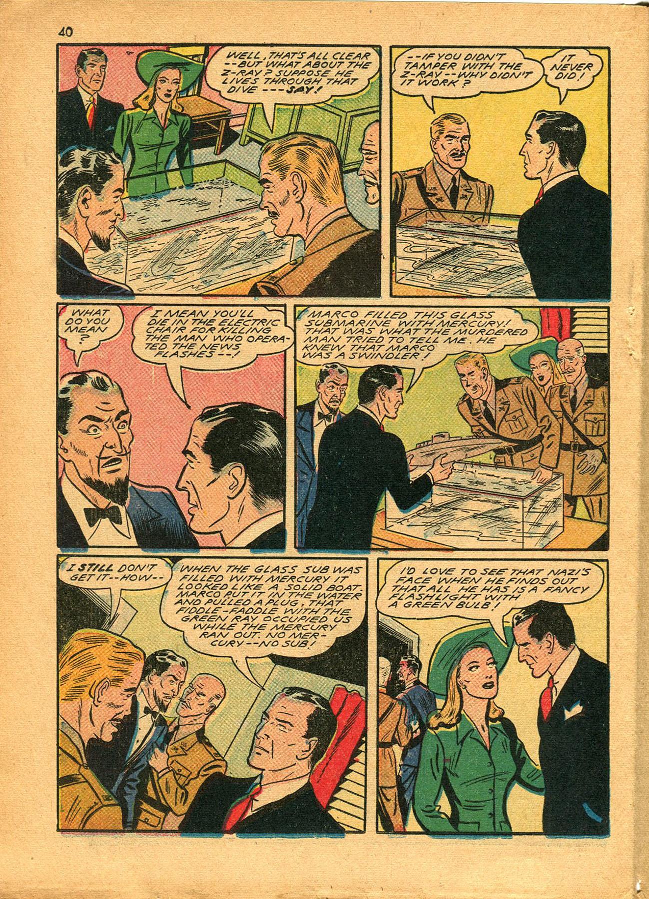Read online Shadow Comics comic -  Issue #23 - 40