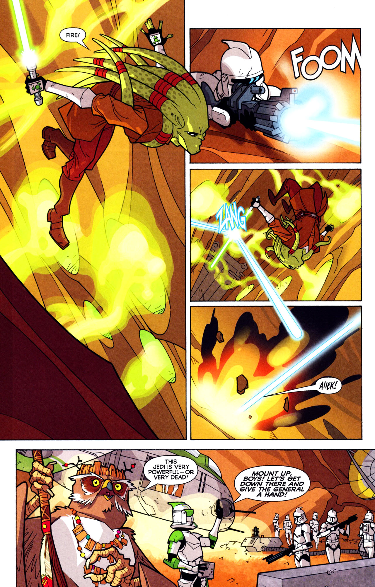 Read online Free Comic Book Day and Star Wars: The Clone Wars-Gauntlet of Death comic -  Issue # Full - 6