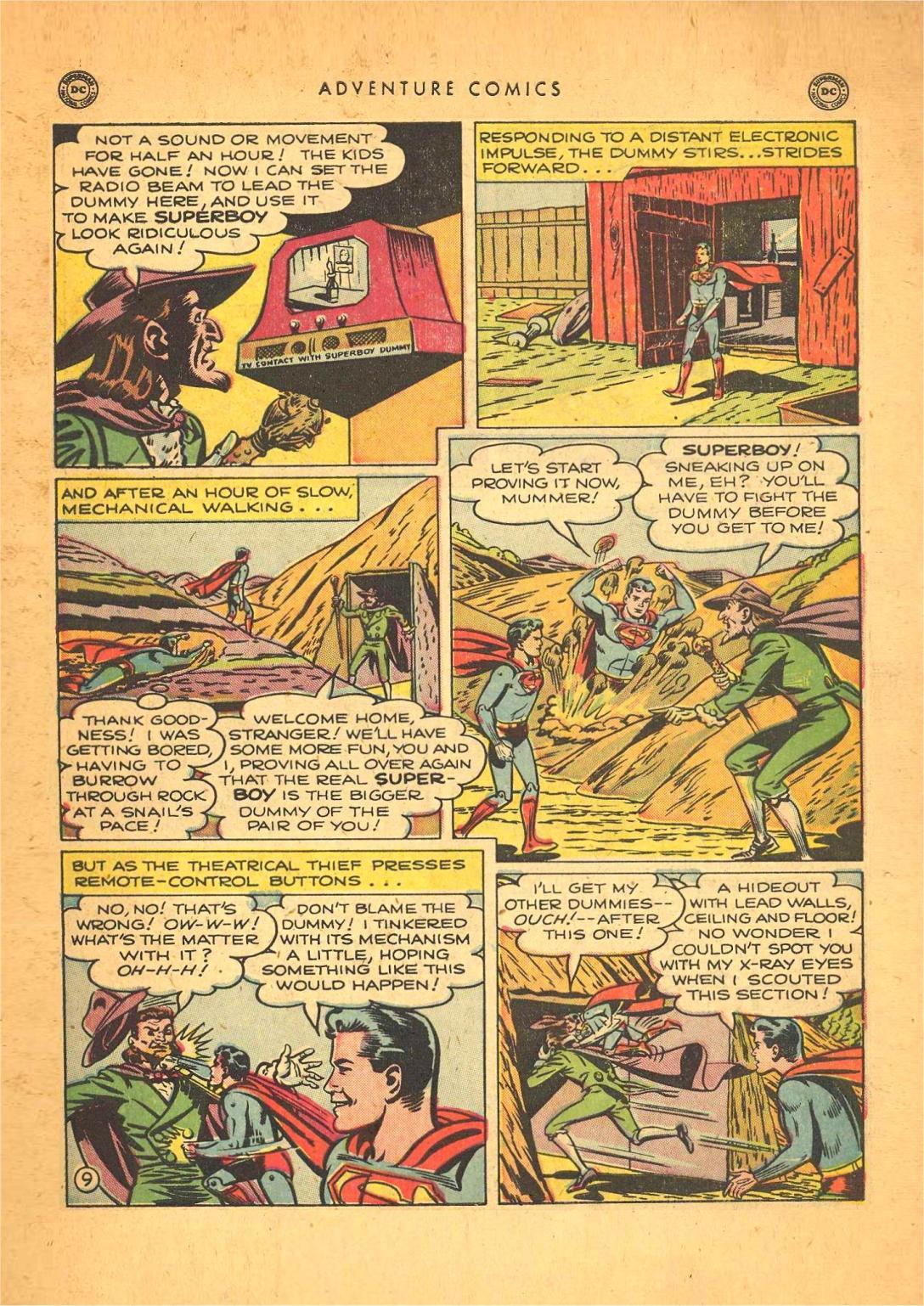 Read online Adventure Comics (1938) comic -  Issue #148 - 11