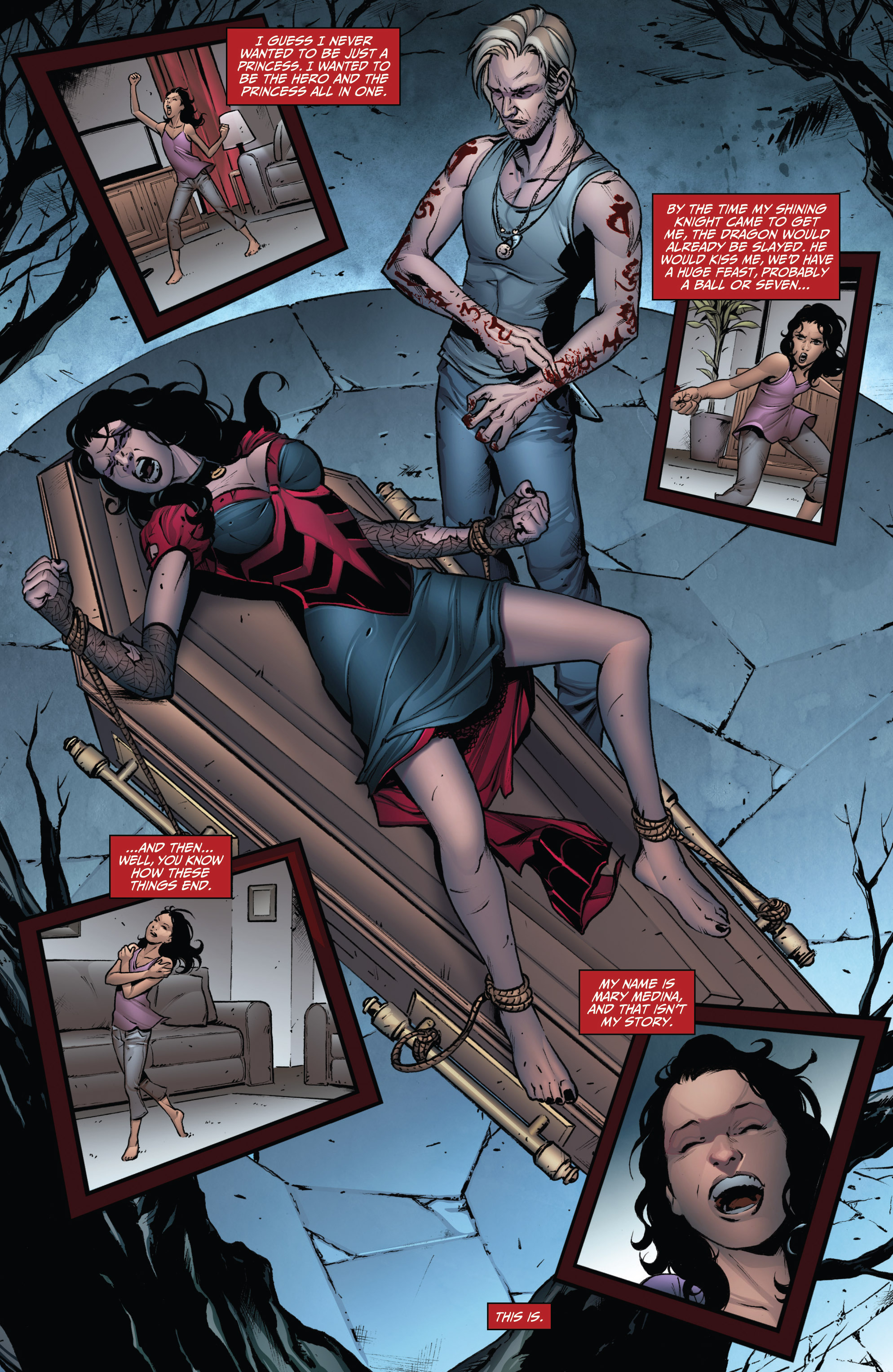 Read online Grimm Fairy Tales: Arcane Acre comic -  Issue # TPB 3 - 32