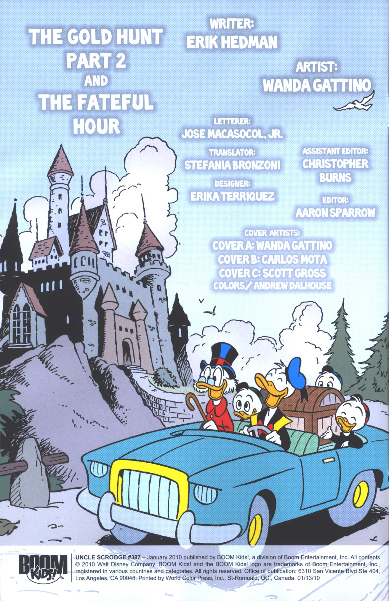 Read online Uncle Scrooge (1953) comic -  Issue #387 - 3