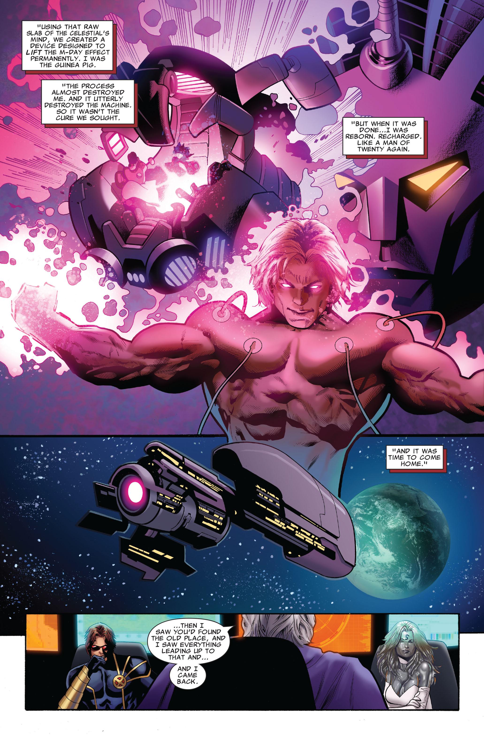 Read online Uncanny X-Men (1963) comic -  Issue #516 - 18