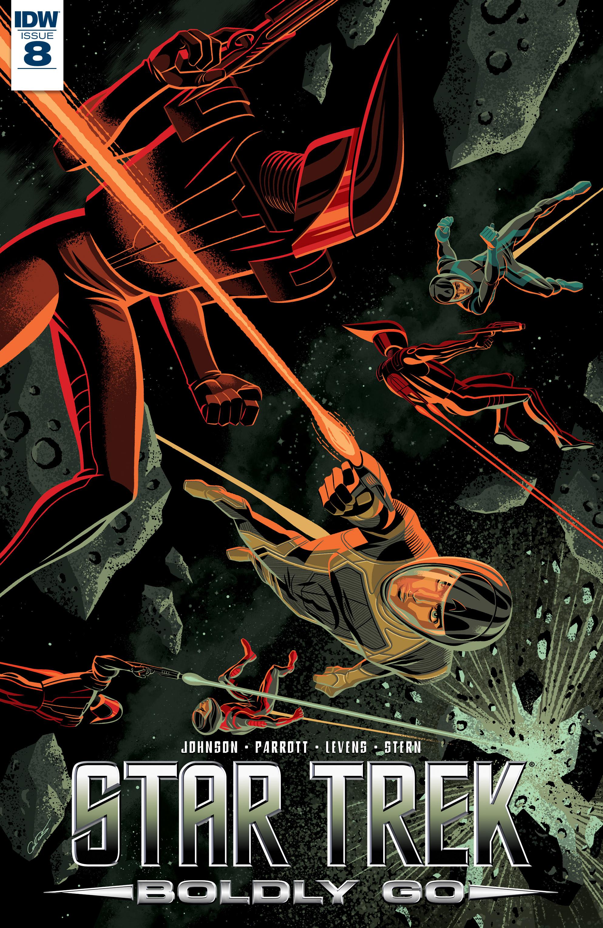 Read online Star Trek: Boldly Go comic -  Issue #8 - 1