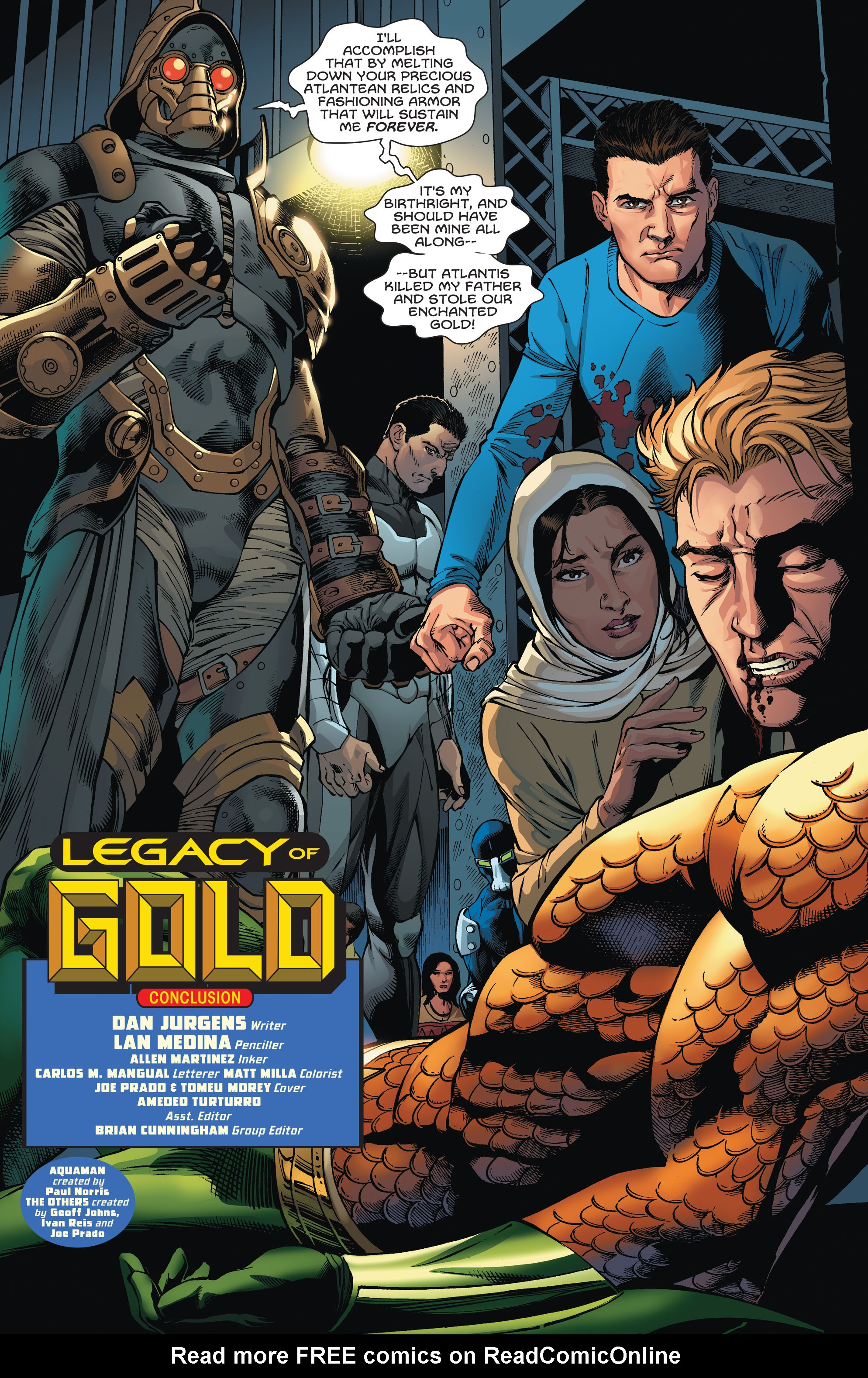 Read online Aquaman and the Others comic -  Issue #5 - 4