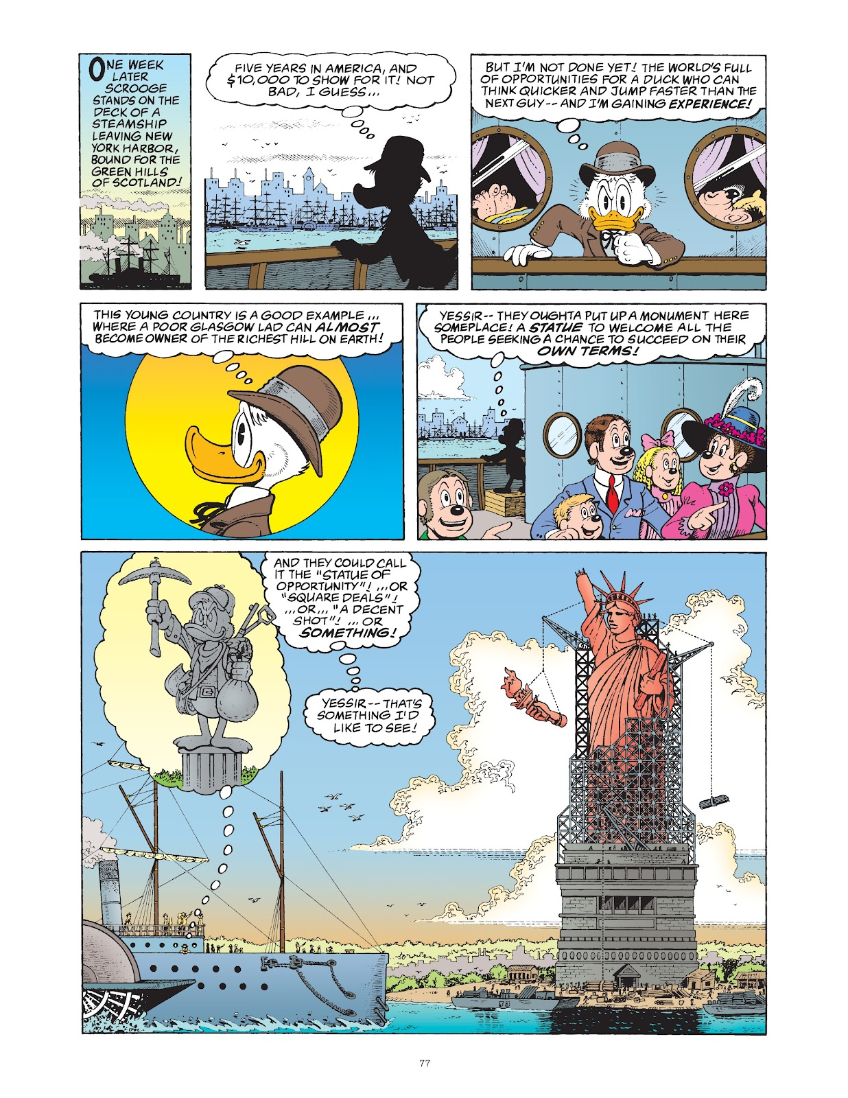 Read online The Complete Life and Times of Scrooge McDuck comic -  Issue # TPB 1 (Part 1) - 81