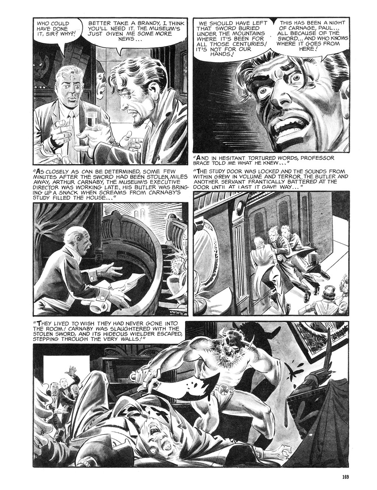 Read online Eerie Archives comic -  Issue # TPB 2 - 170