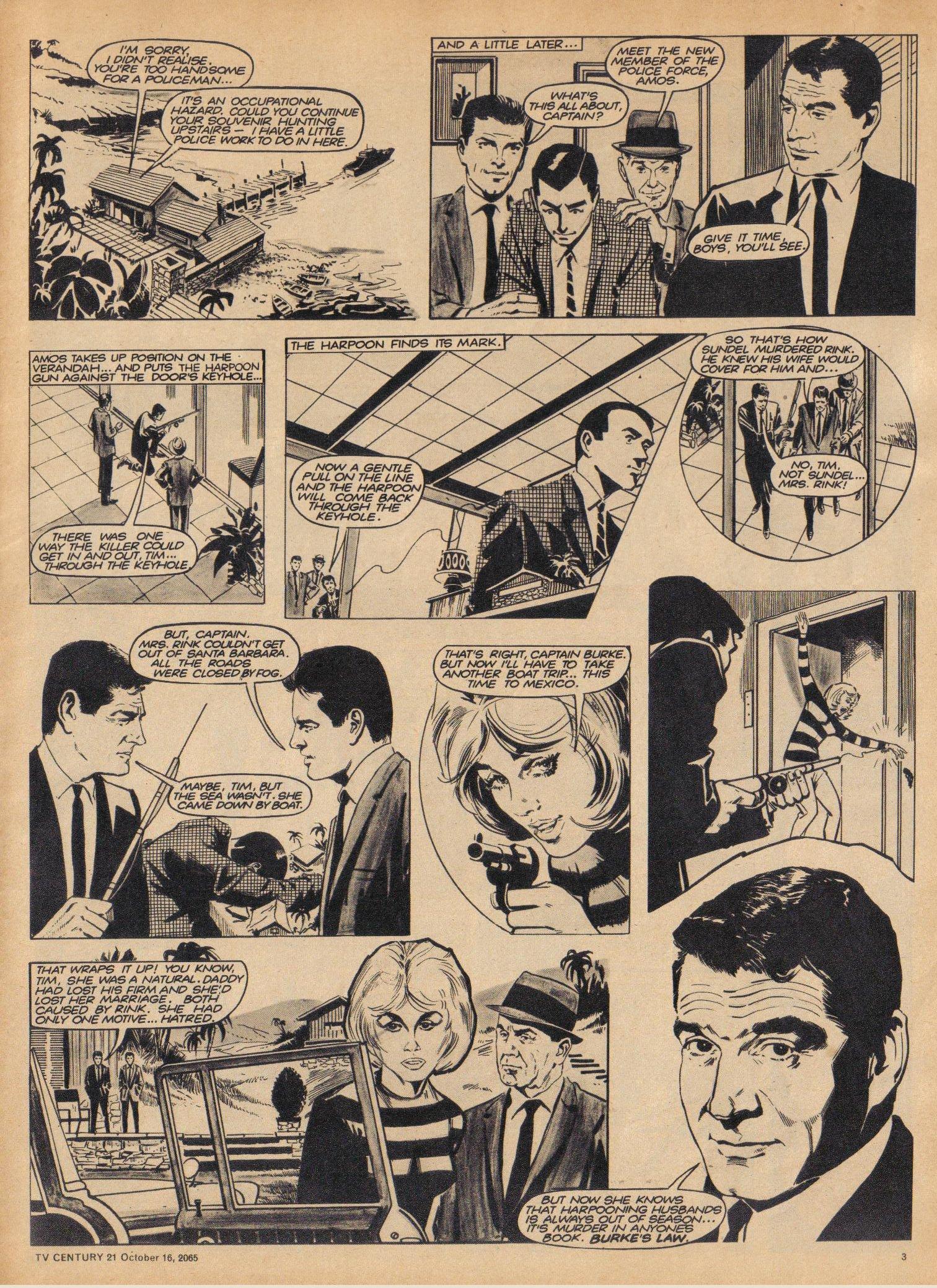 Read online TV Century 21 (TV 21) comic -  Issue #39 - 3