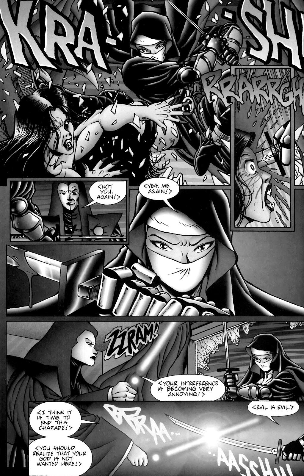Warrior Nun Areala:  Dangerous Game Issue #3 #3 - English 22