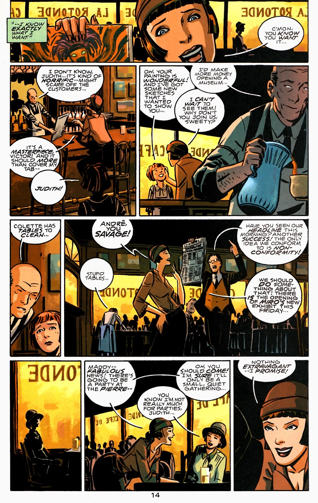Read online Beware The Creeper (2003) comic -  Issue #1 - 15