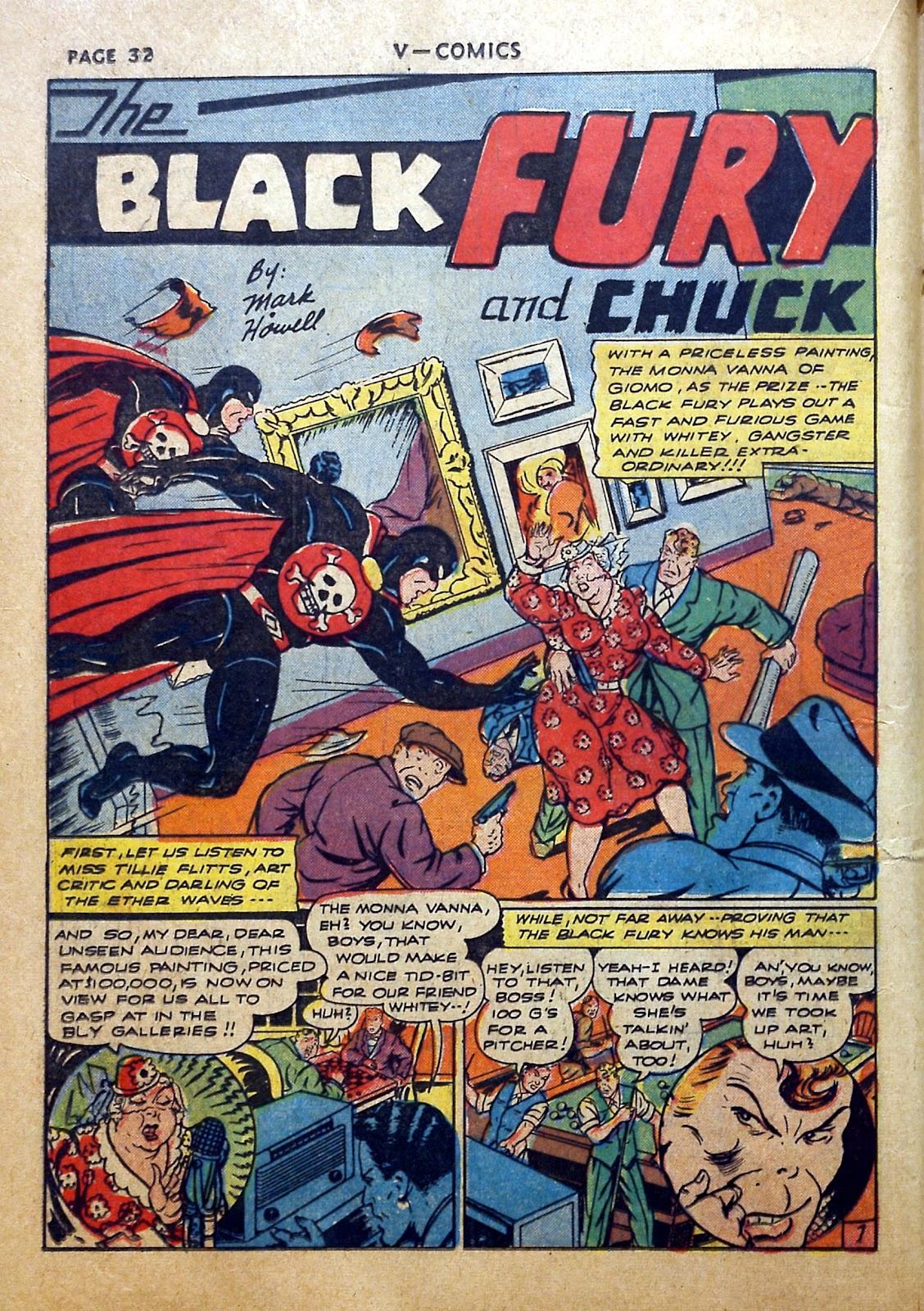 Read online V...- Comics comic -  Issue #2 - 33