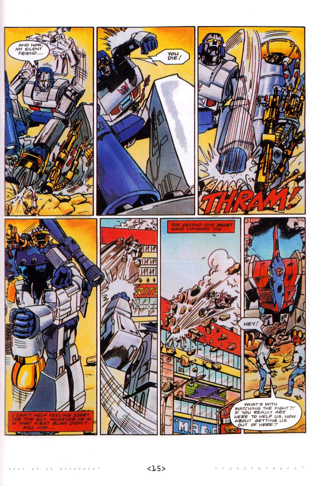 Read online The Transformers: Best of UK: Dinobots comic -  Issue #5 - 17