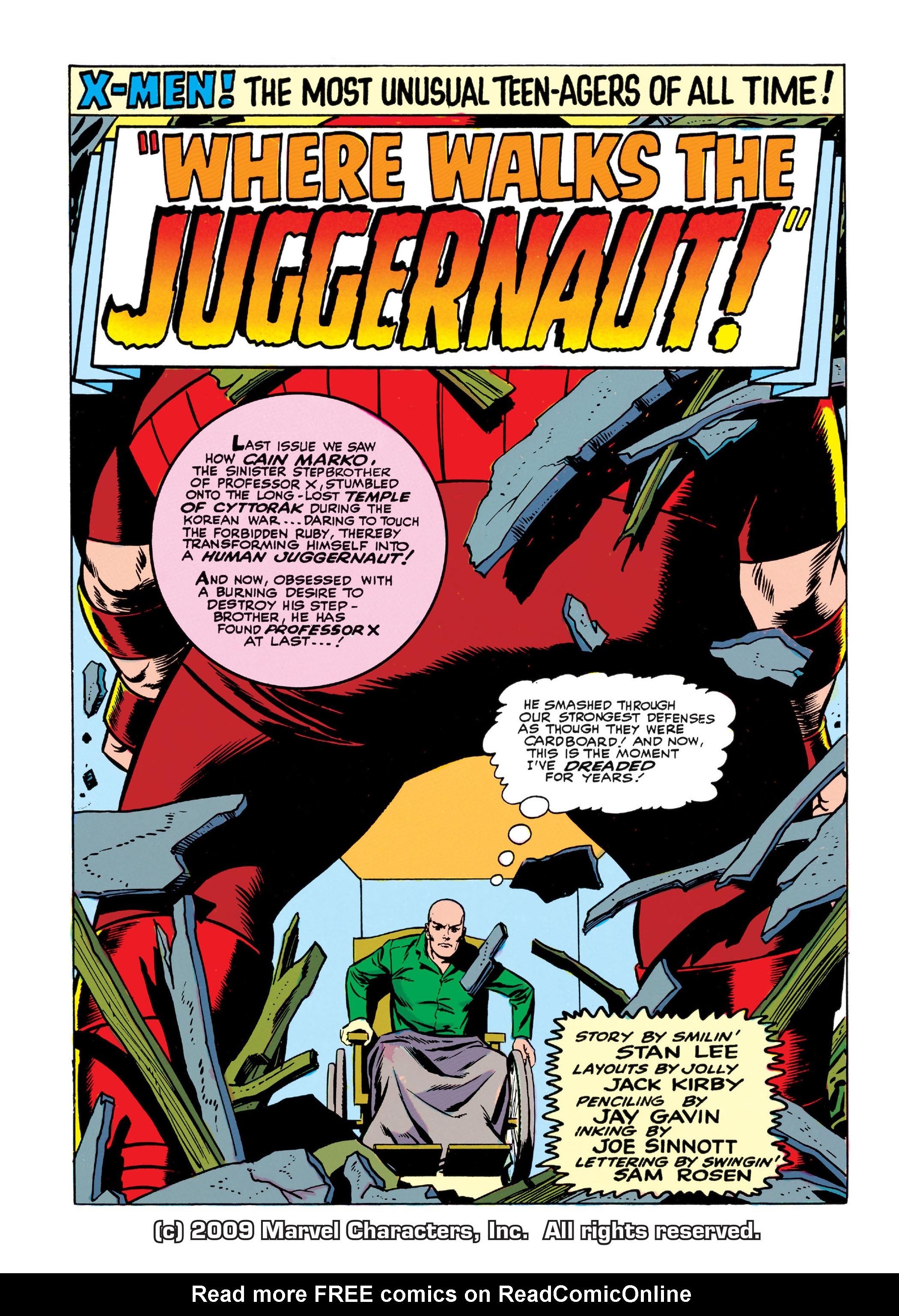 Read online Uncanny X-Men (1963) comic -  Issue #13 - 2