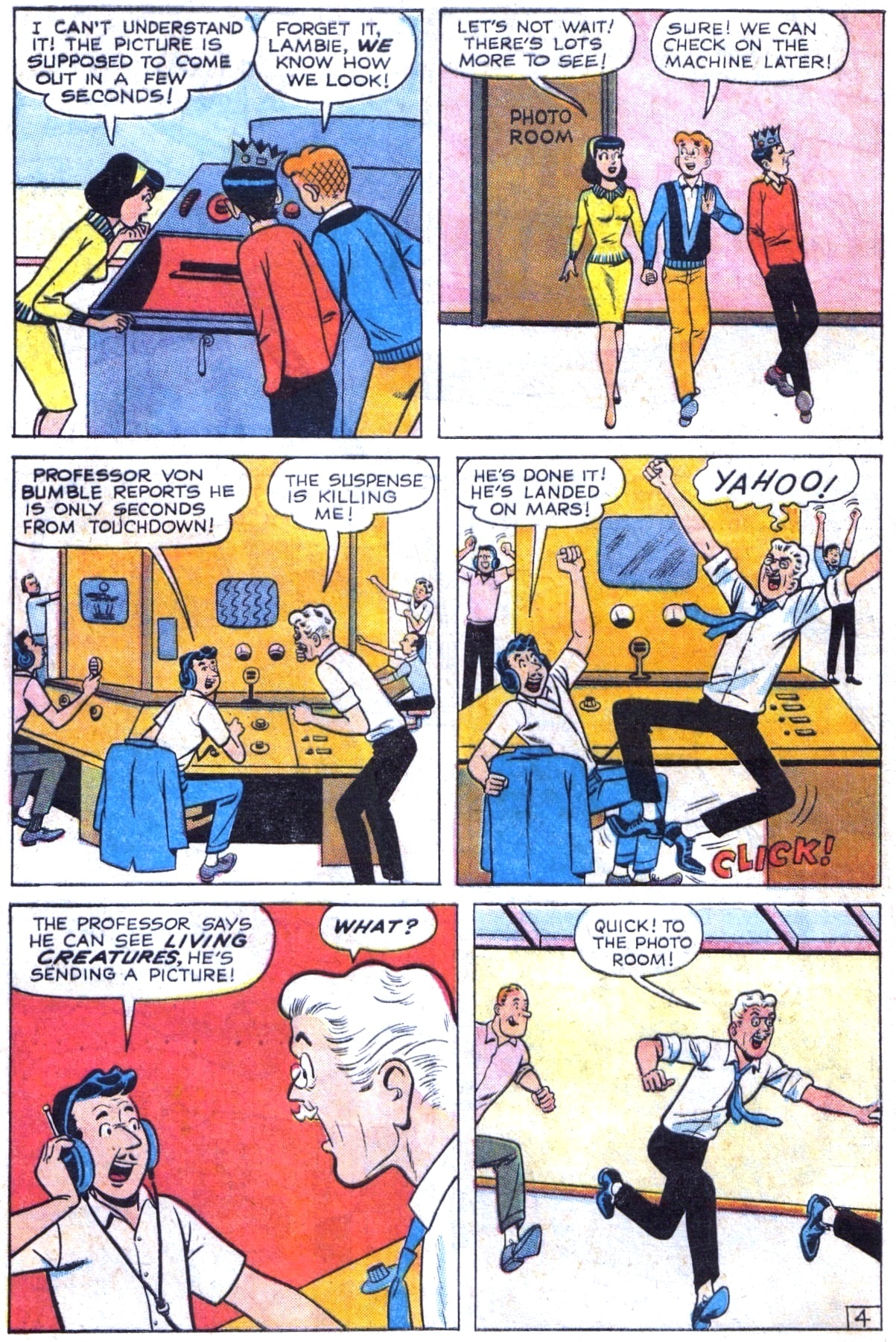 Read online Archie (1960) comic -  Issue #154 - 16