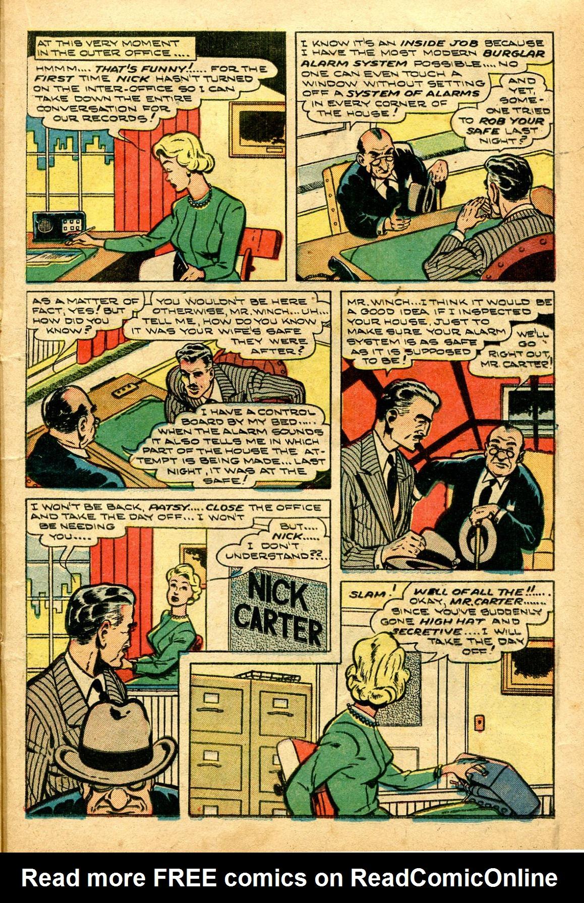 Read online Shadow Comics comic -  Issue #96 - 29