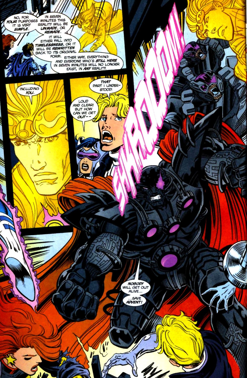 The New Warriors Issue #71 #75 - English 6
