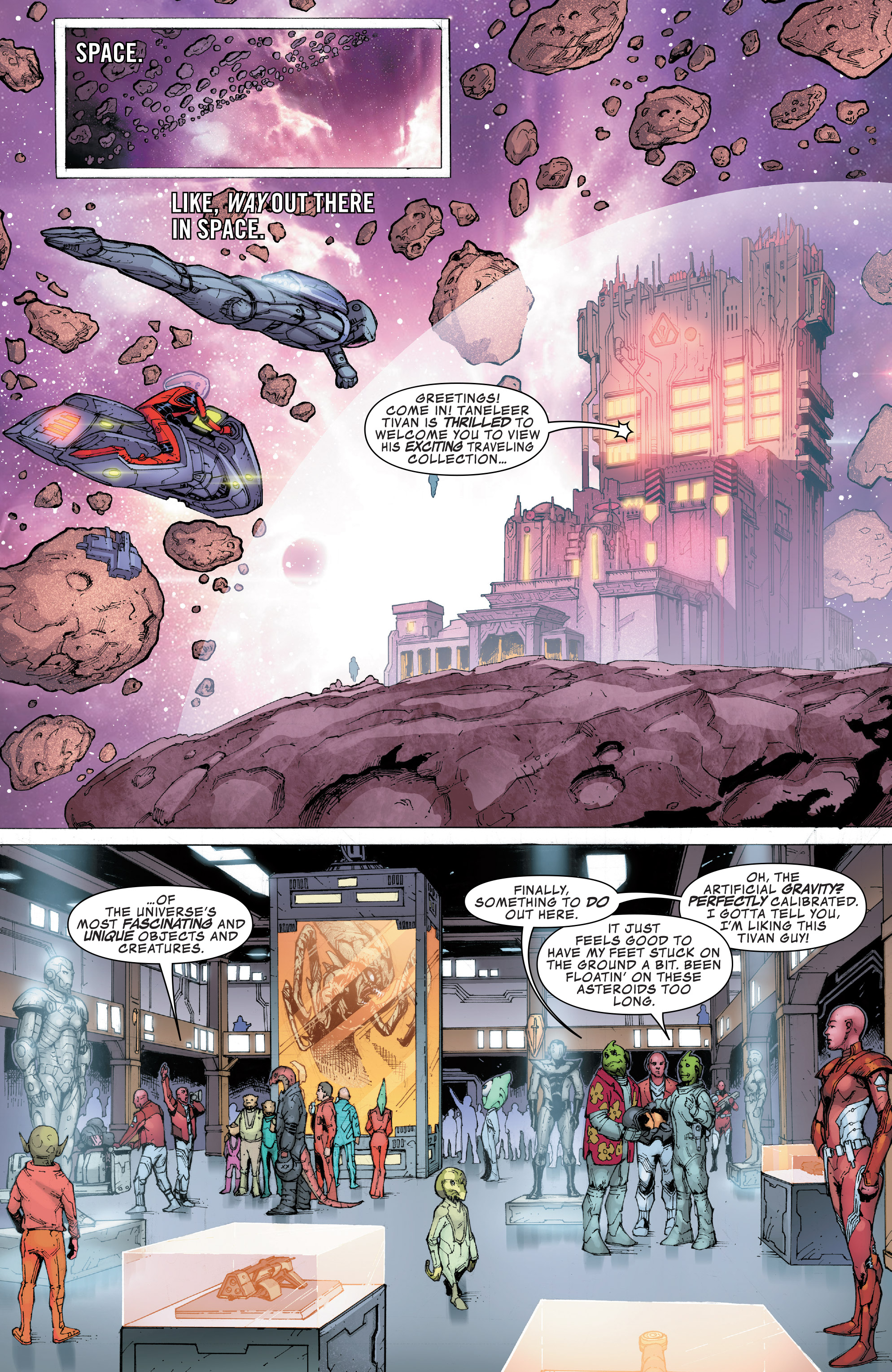 Read online Guardians of the Galaxy: Mission Breakout comic -  Issue # Full - 3