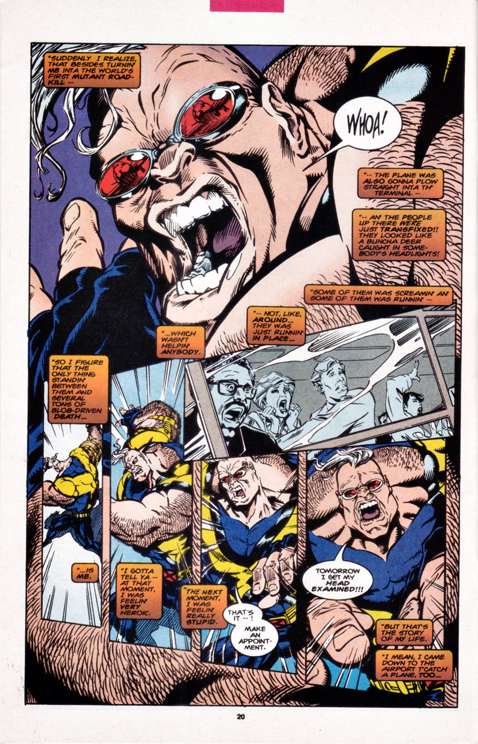 Read online X-Factor (1986) comic -  Issue #107 - 16