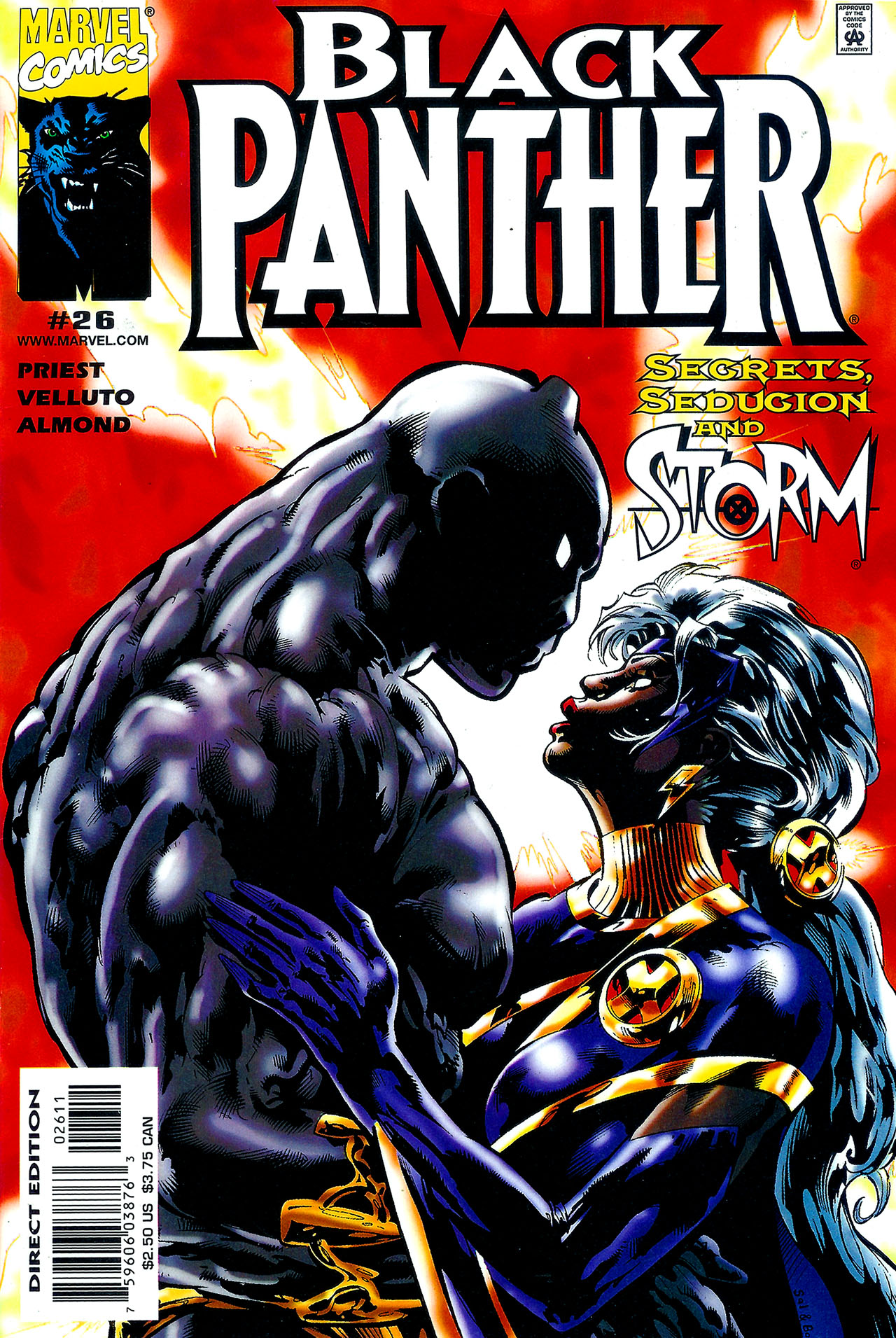 Black Panther (1998) 26 Page 1