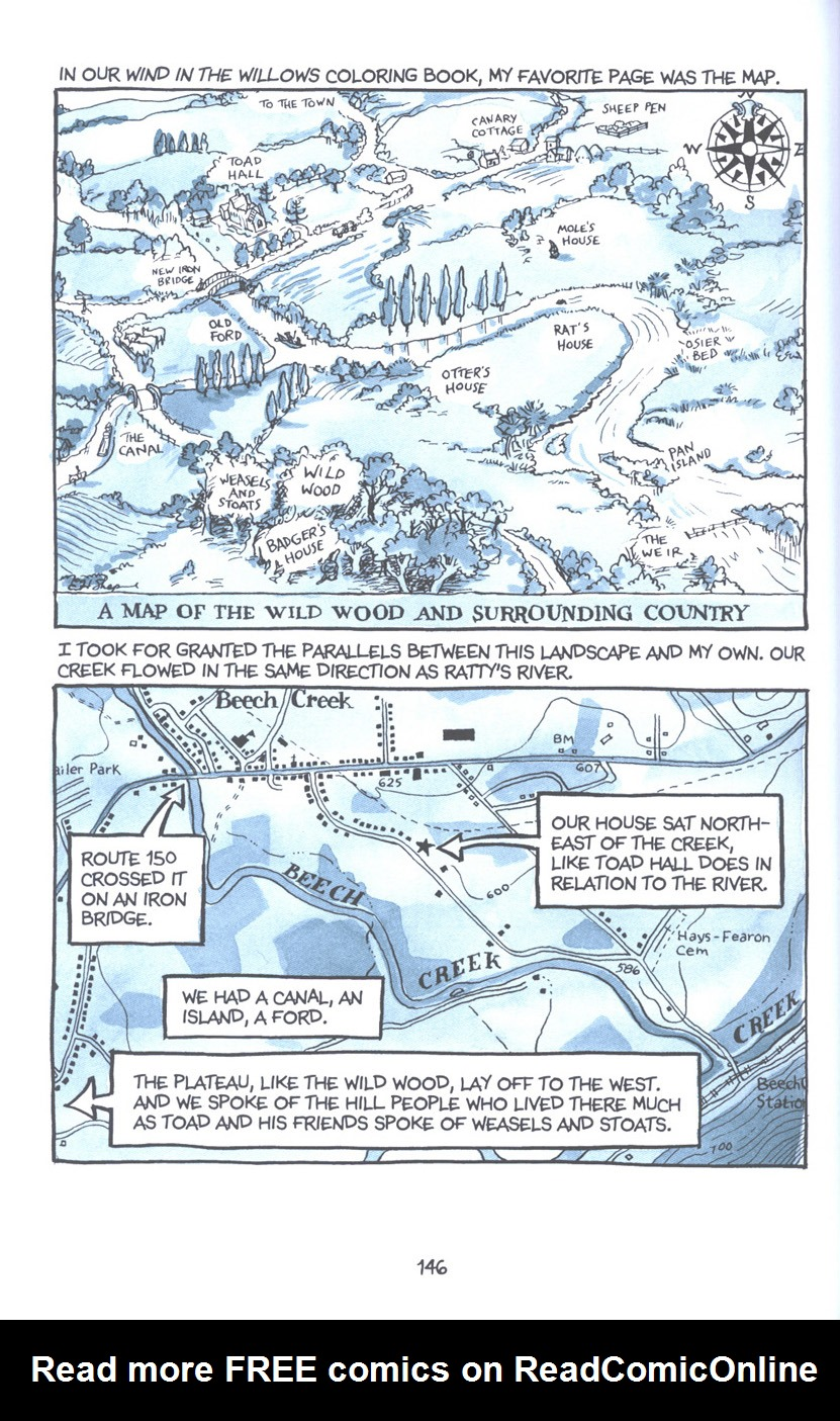 Read online Fun Home: A Family Tragicomic comic -  Issue # TPB - 152