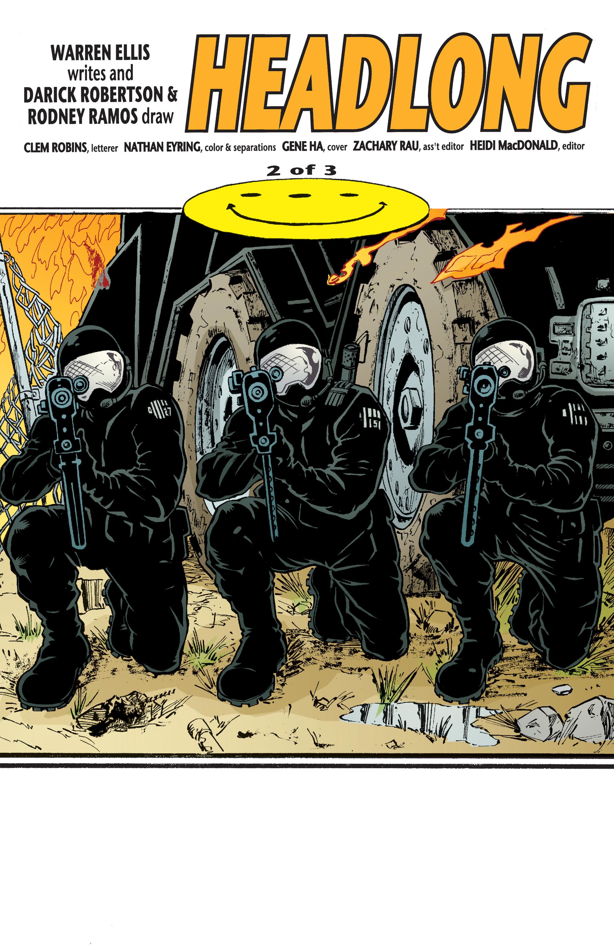 Read online Transmetropolitan comic -  Issue #56 - 2