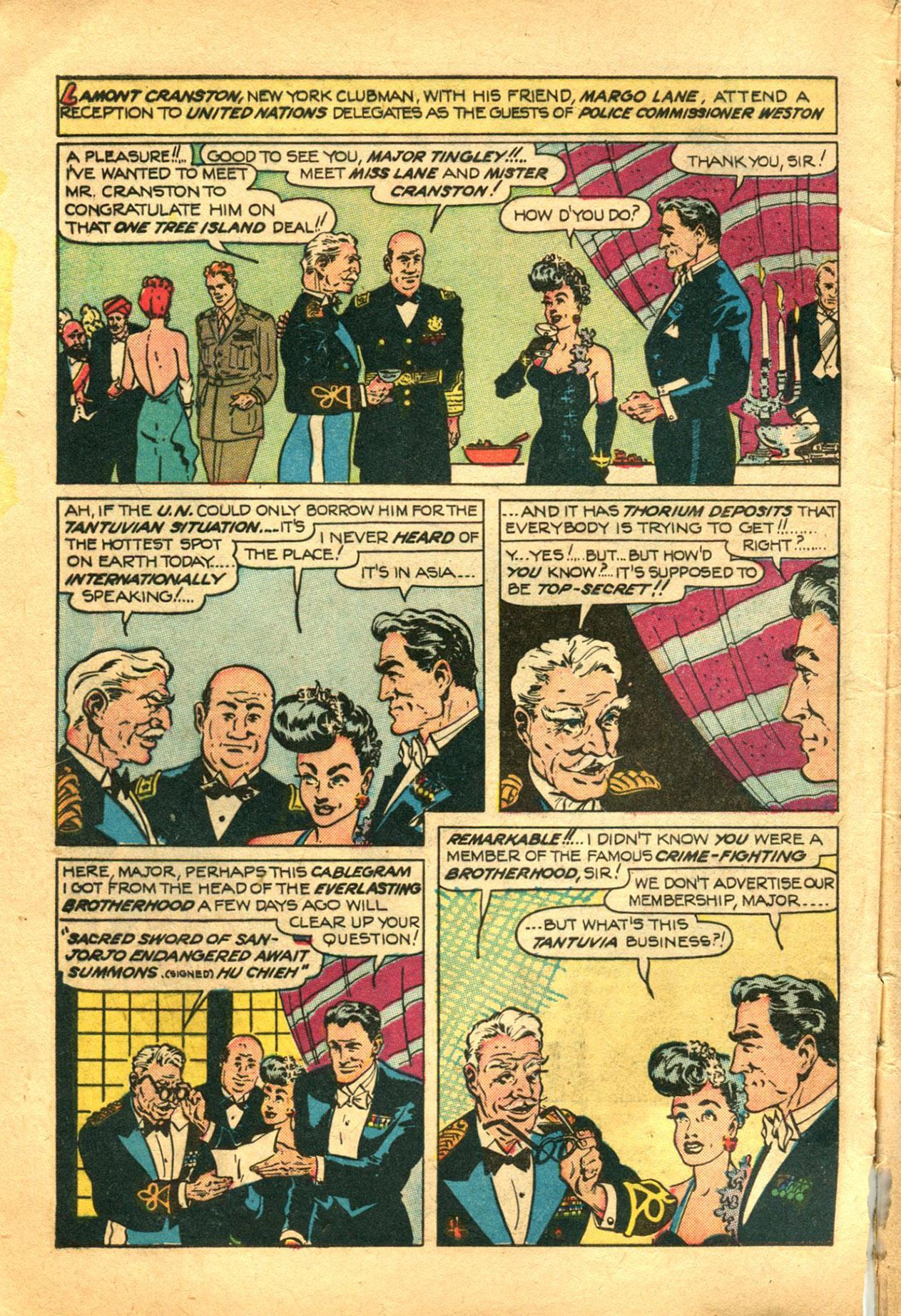 Read online Shadow Comics comic -  Issue #78 - 4