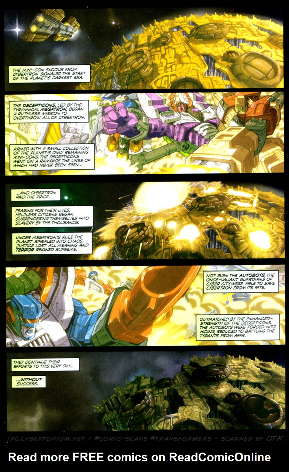 Read online Transformers Armada comic -  Issue #3 - 3