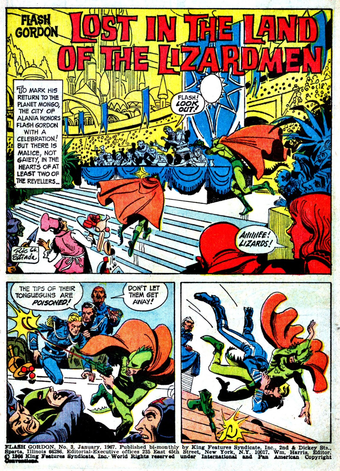 Flash Gordon (1966) issue 3 - Page 2