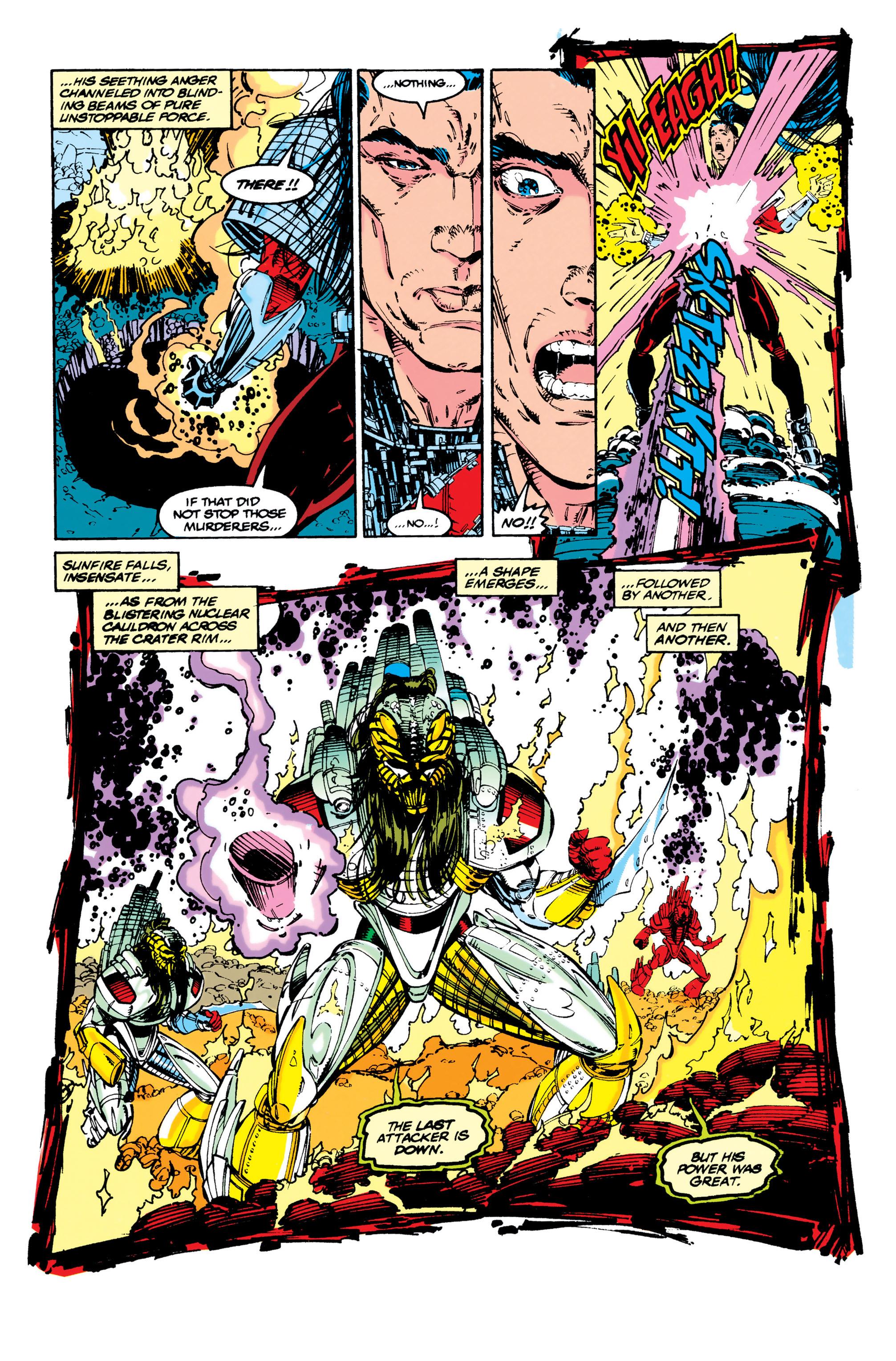 Read online Uncanny X-Men (1963) comic -  Issue #284 - 9