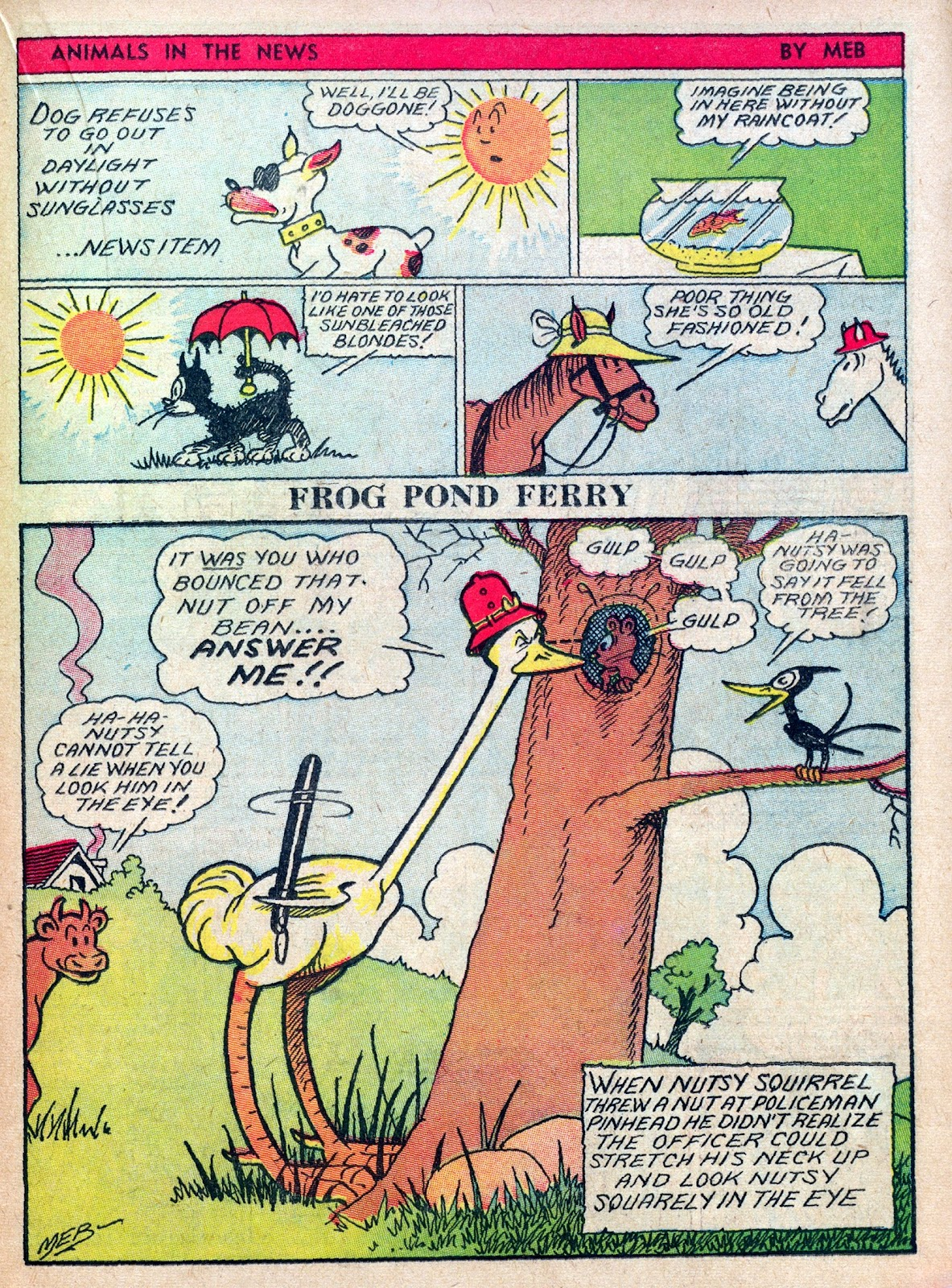 Read online Famous Funnies comic -  Issue #45 - 37