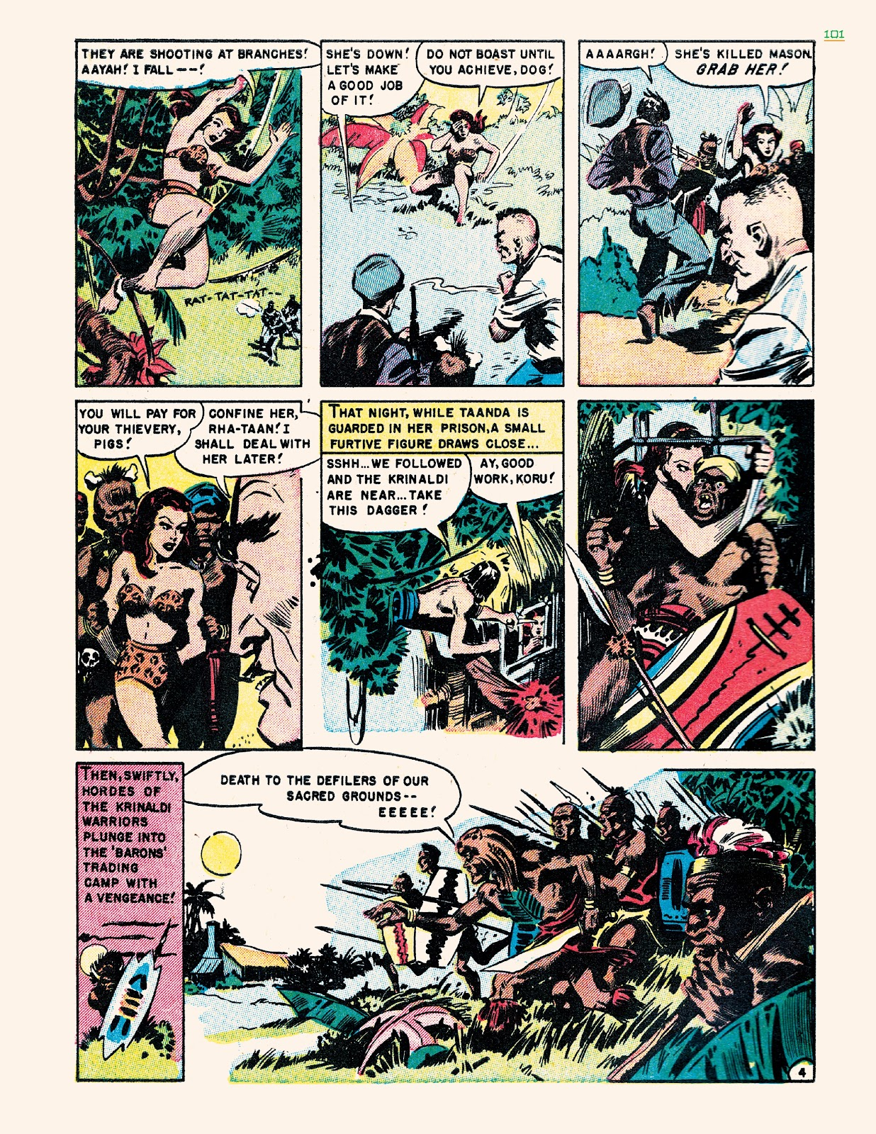 Read online Jungle Girls comic -  Issue # TPB (Part 2) - 1
