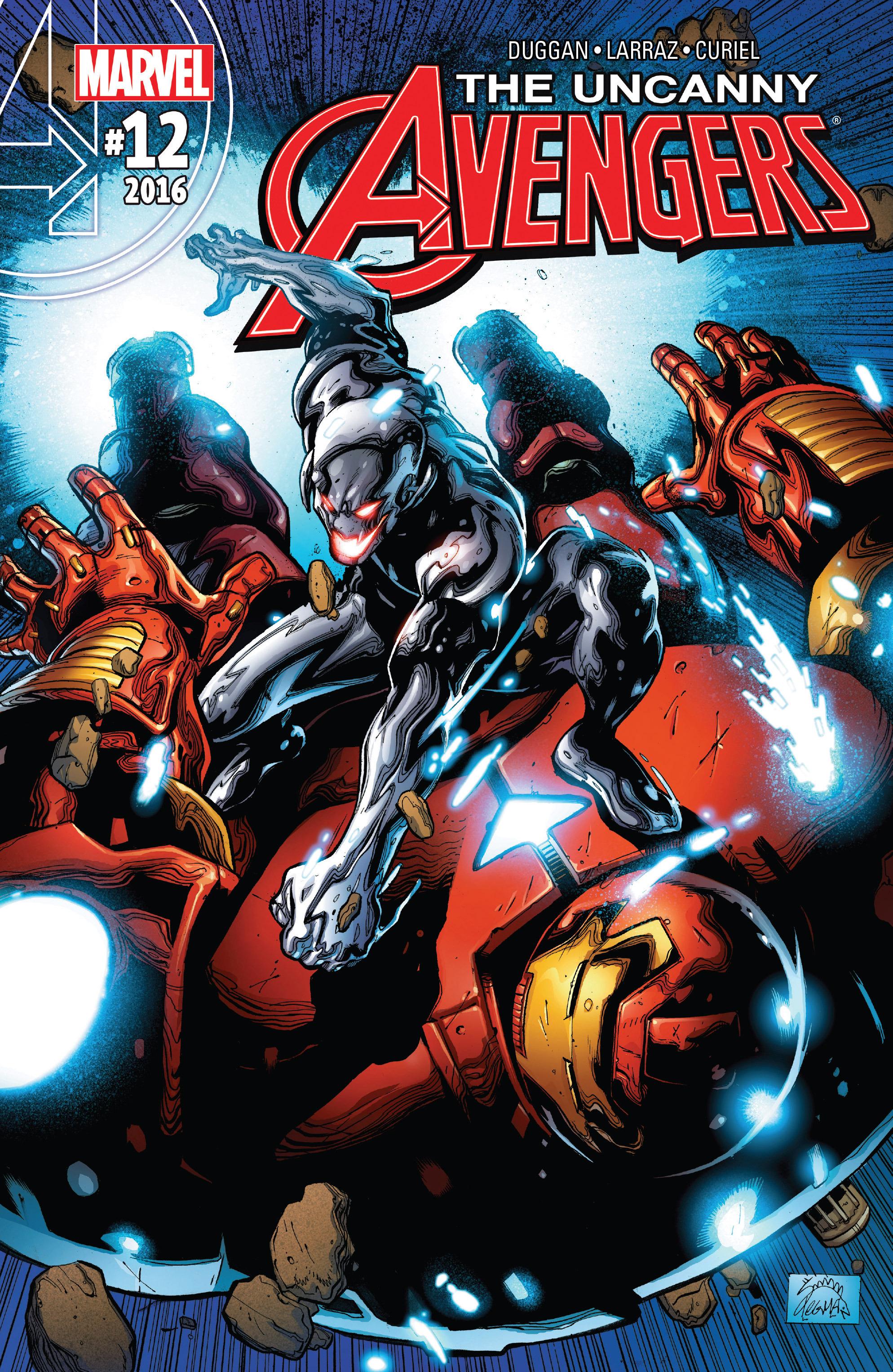 Read online Uncanny Avengers [II] comic -  Issue #12 - 1