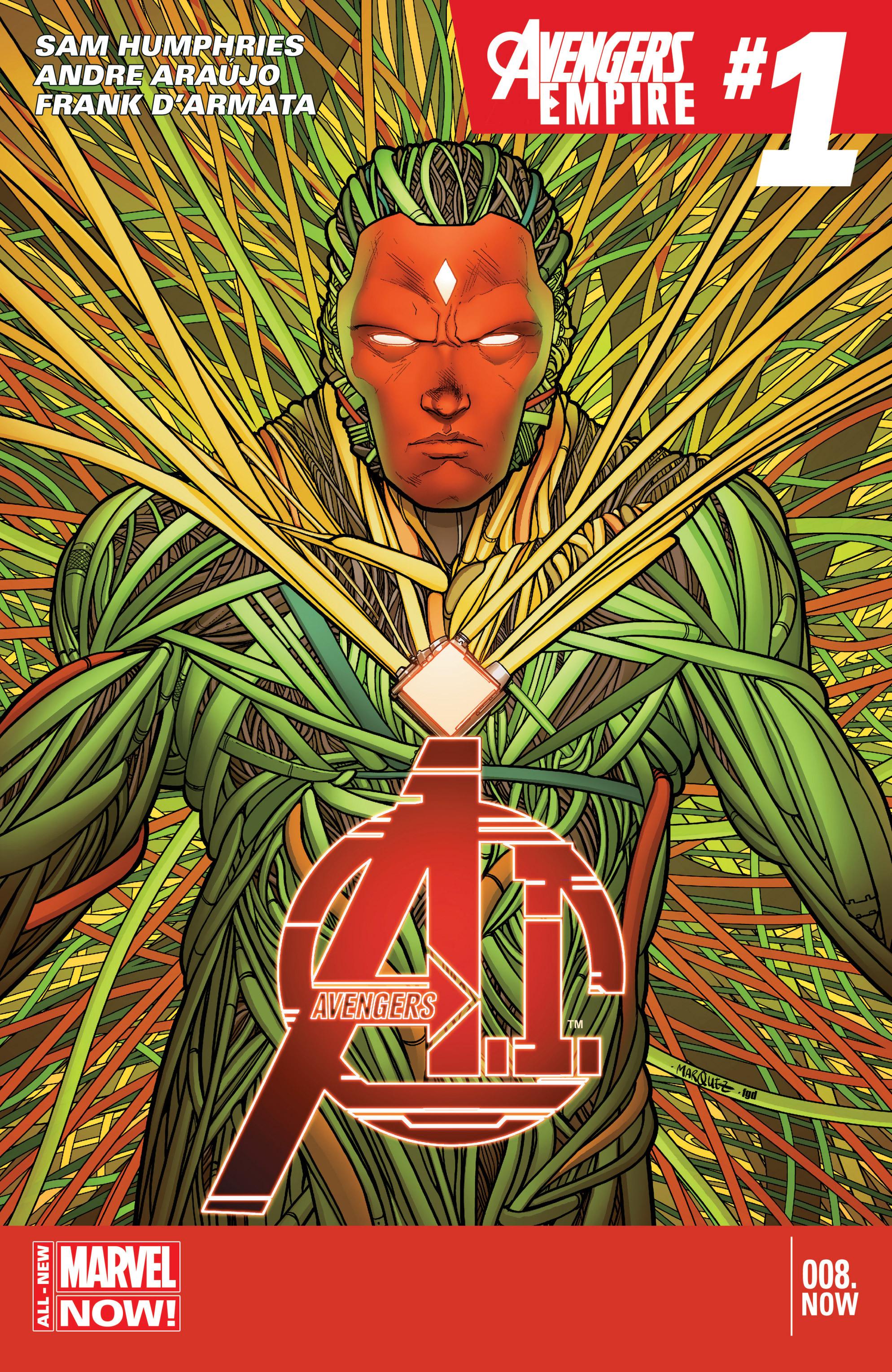 Avengers A.I. 8 Page 1