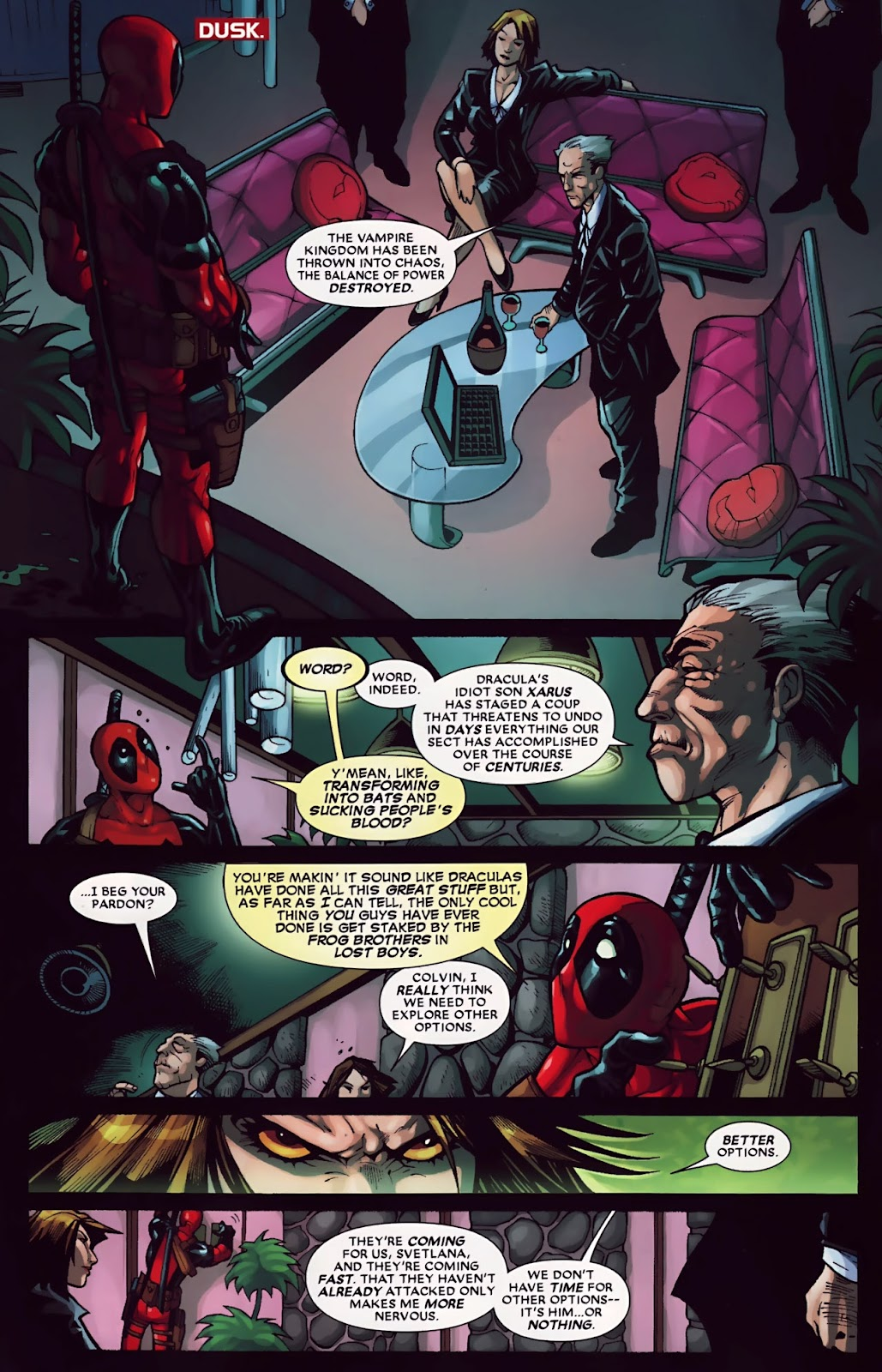Read online Deadpool (2008) comic -  Issue #30 - 8