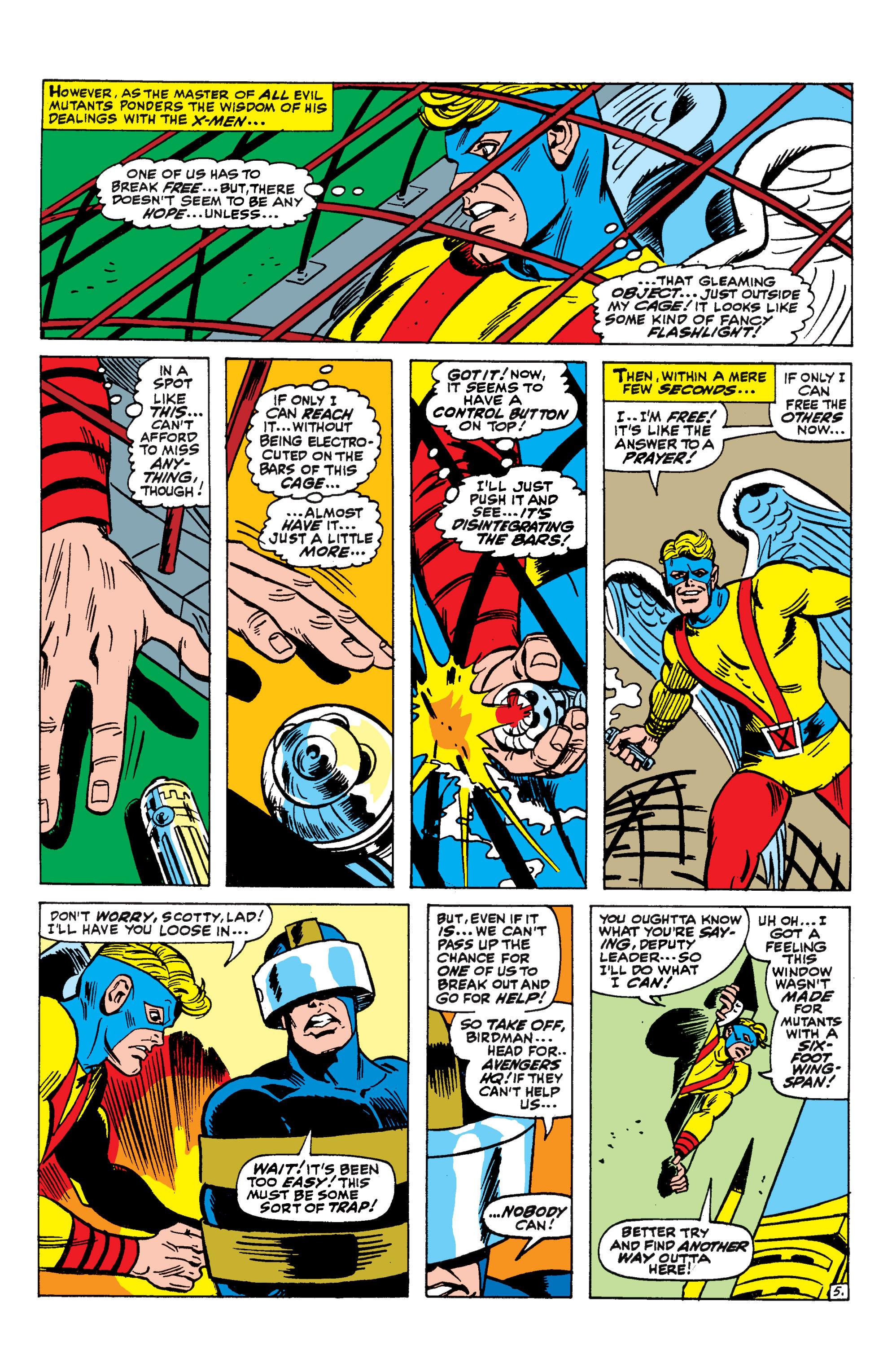 Read online Uncanny X-Men (1963) comic -  Issue #44 - 6