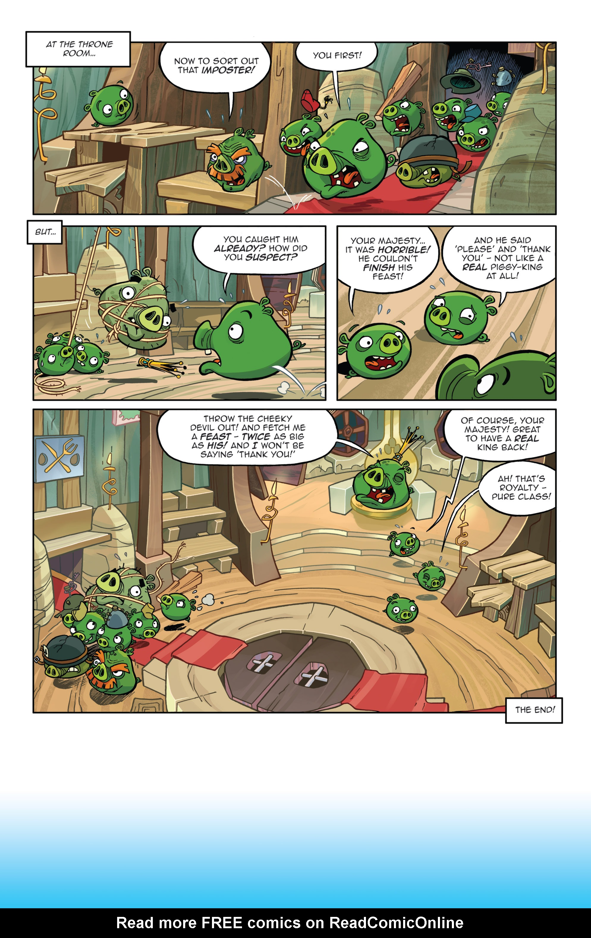 Read online Angry Birds Comics (2014) comic -  Issue #8 - 22