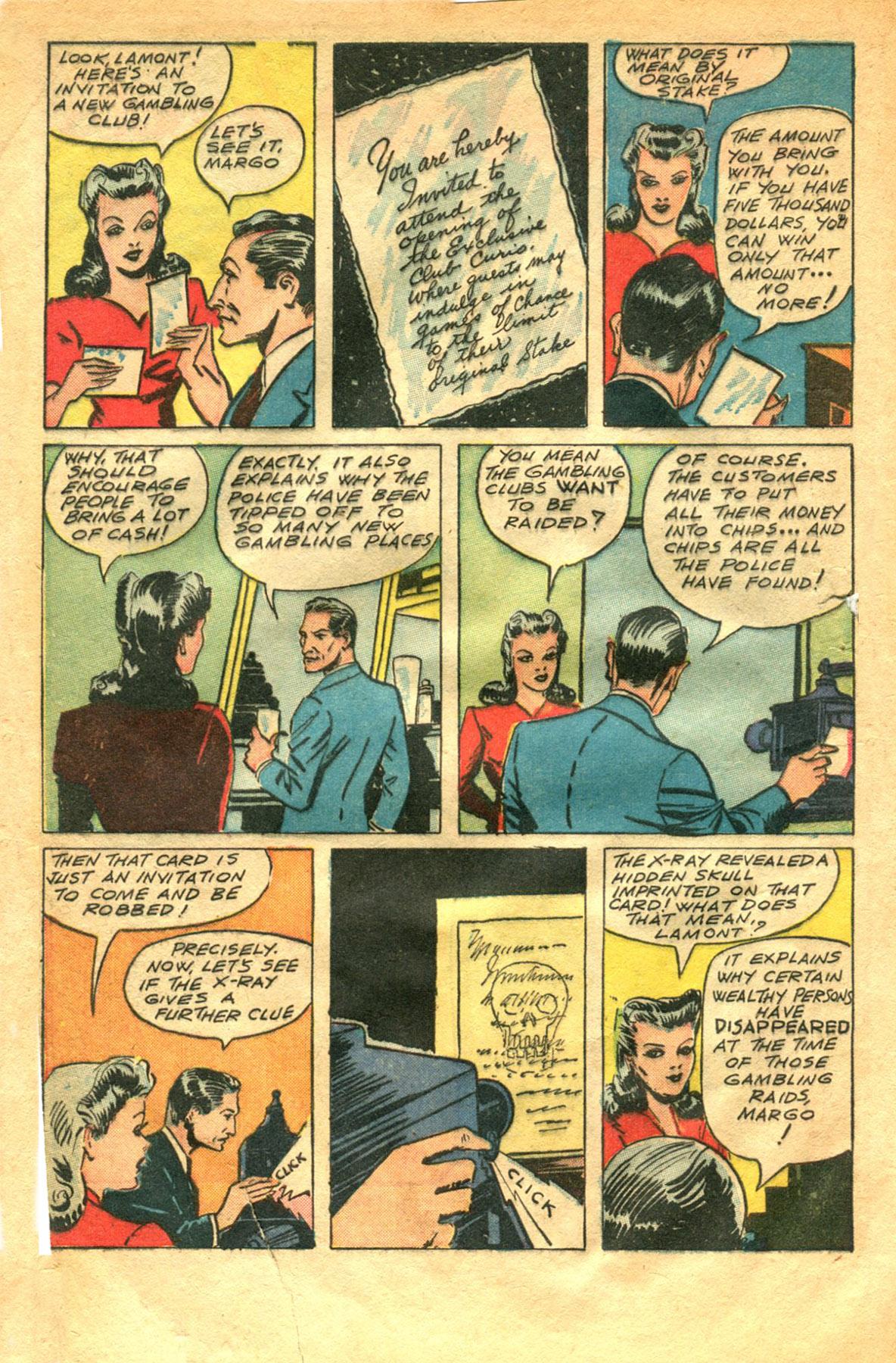 Read online Shadow Comics comic -  Issue #48 - 4