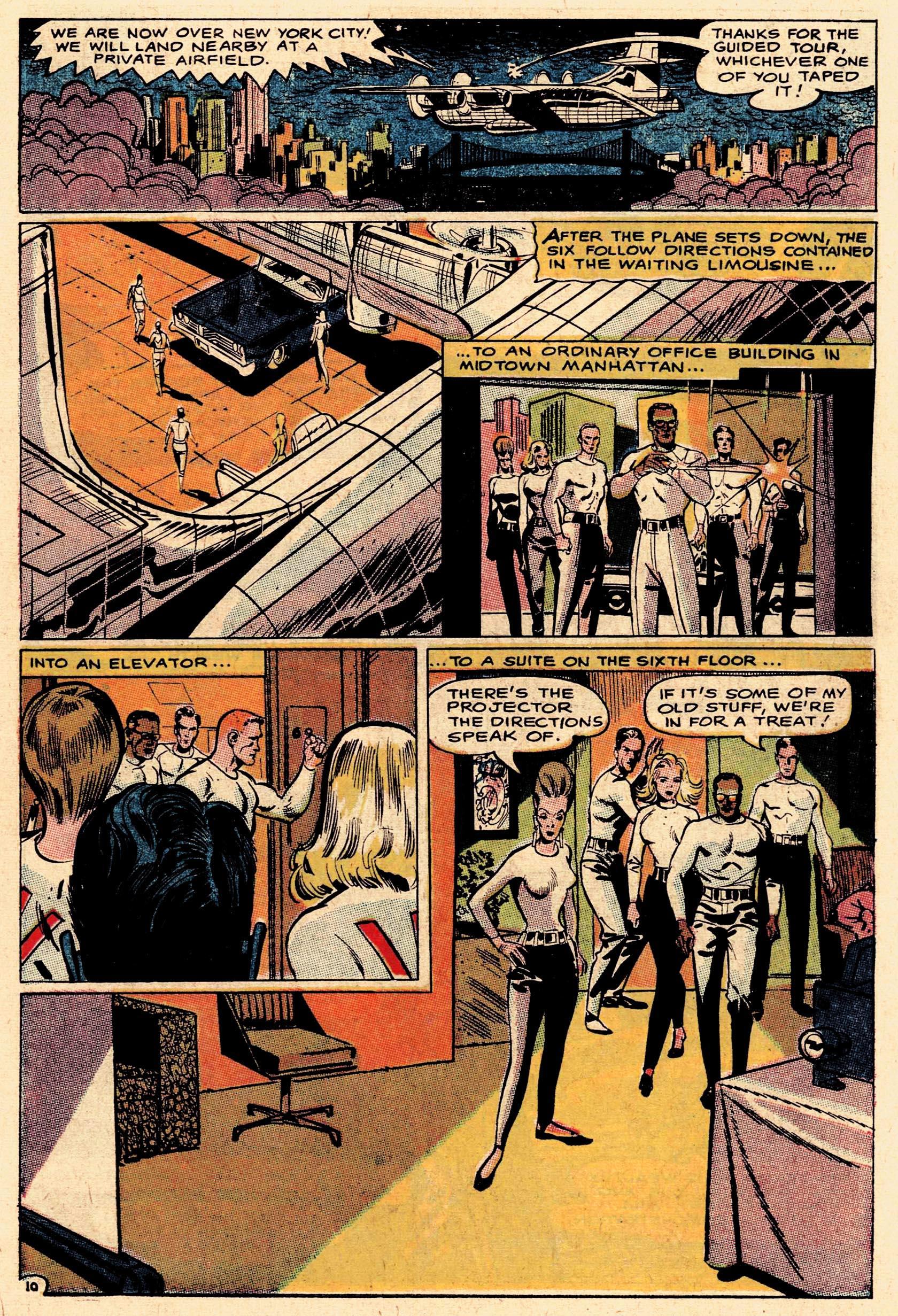 Read online Secret Six (1968) comic -  Issue #1 - 15