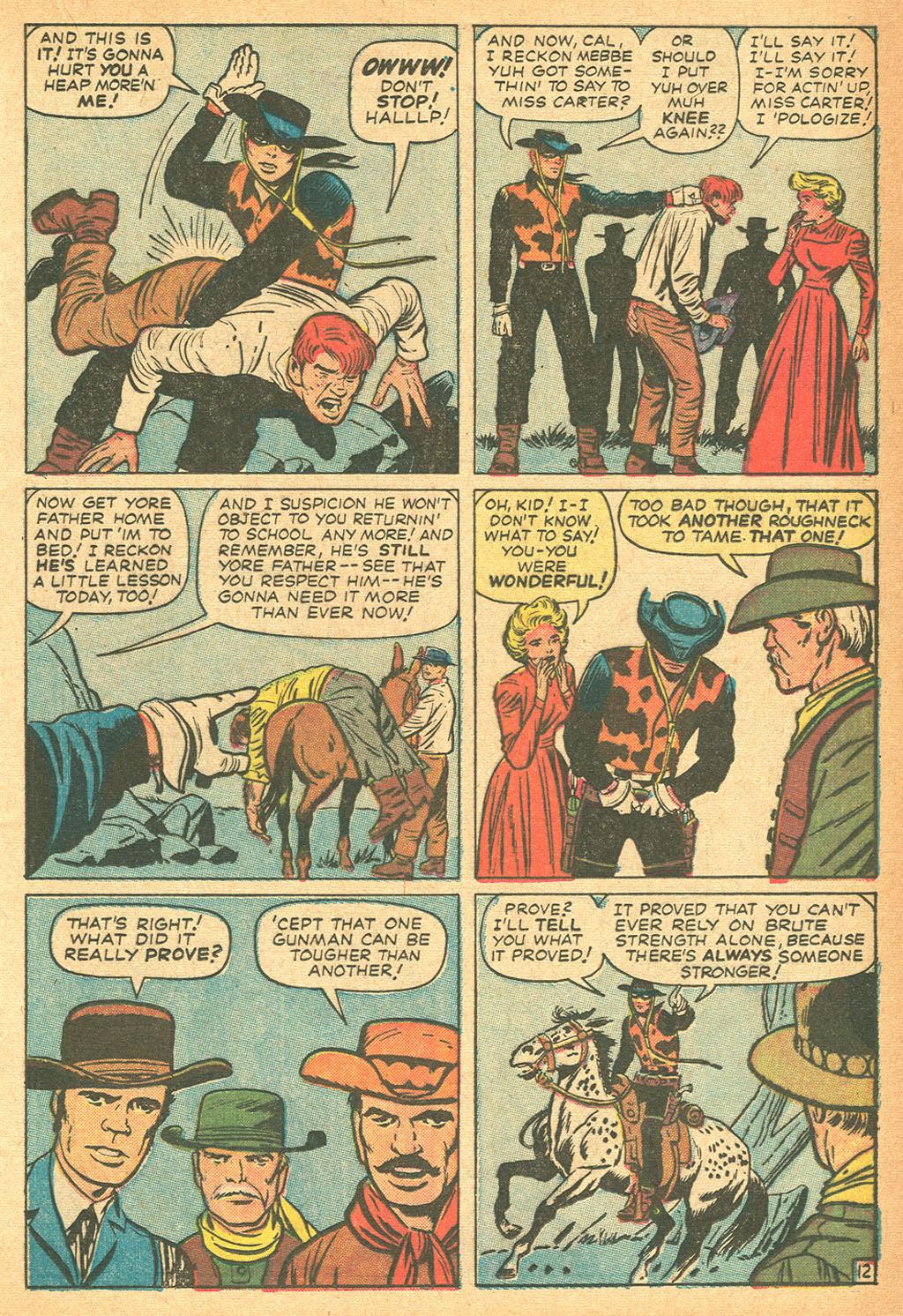 Read online Two-Gun Kid comic -  Issue #62 - 17