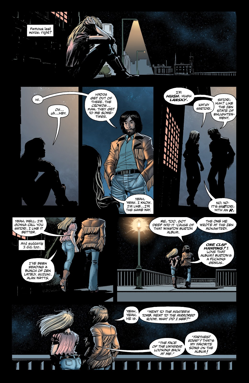Read online The Girl In The Bay comic -  Issue #1 - 8