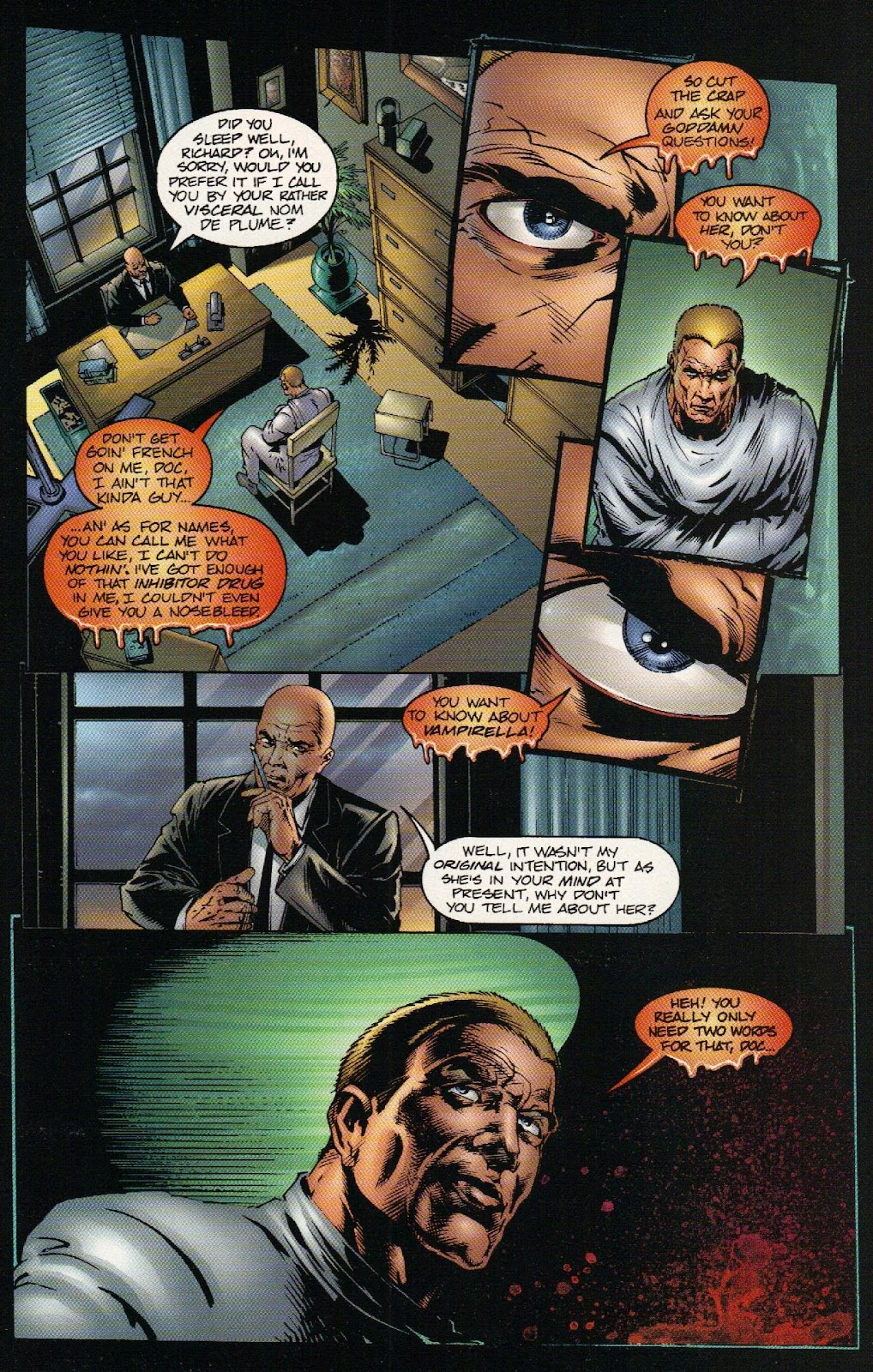 Vampirella vs Hemorrhage issue 1 - Page 9