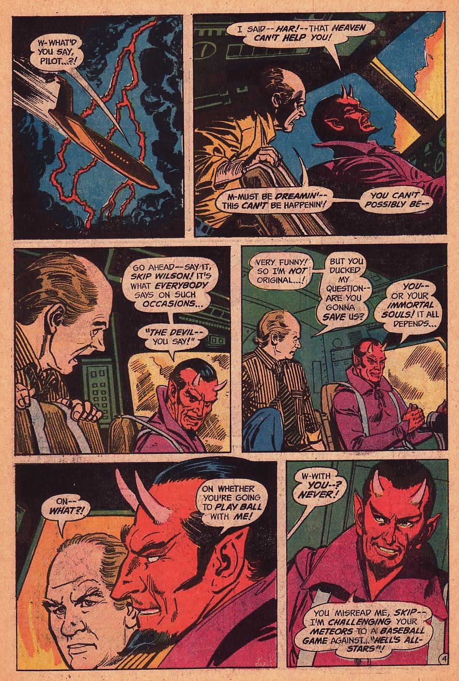 Read online Strange Sports Stories (1973) comic -  Issue #1 - 5