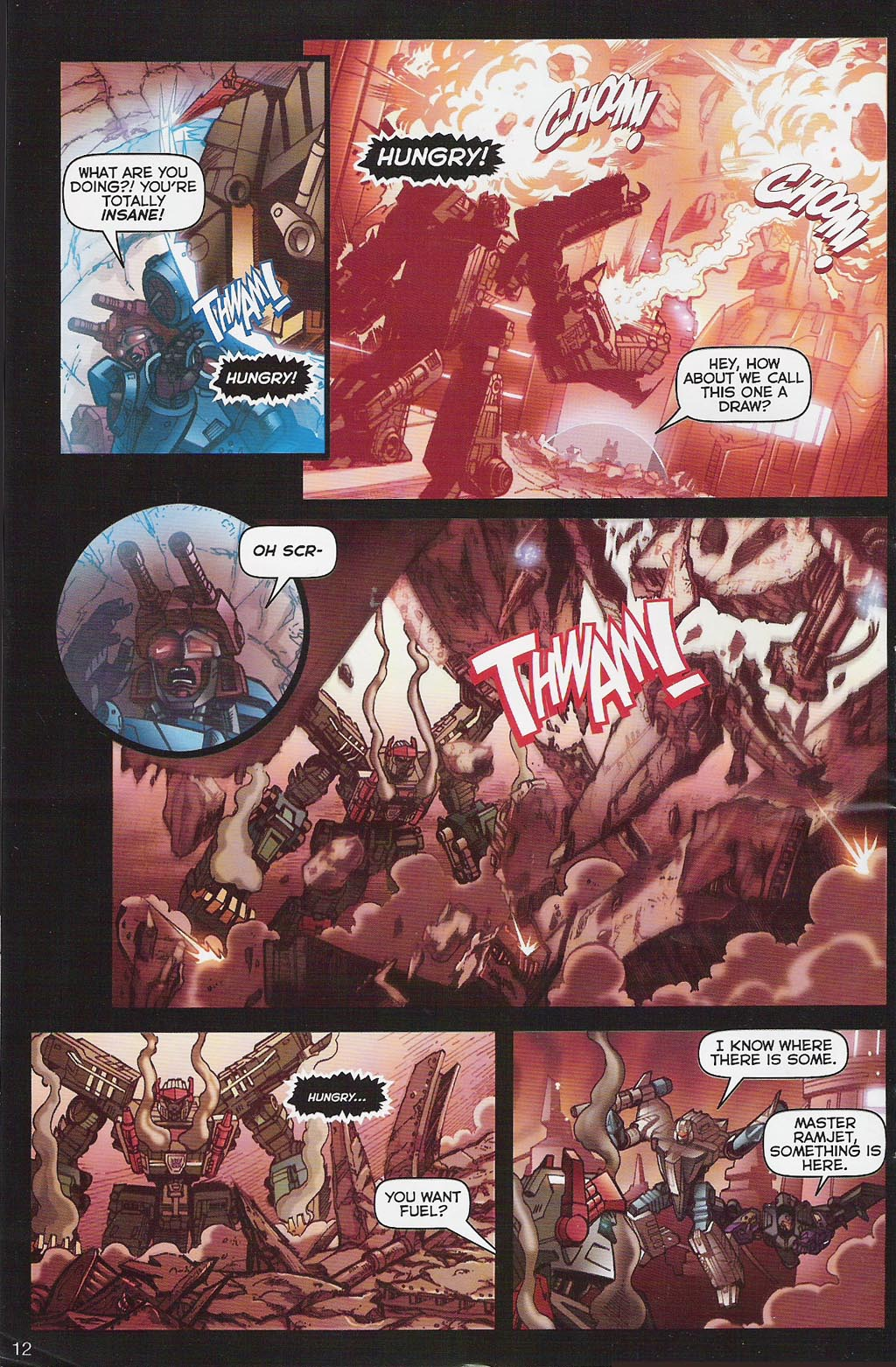 Read online Transformers: Collectors' Club comic -  Issue #4 - 12