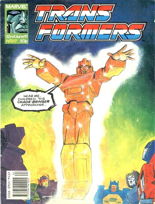 The Transformers (UK) 317 Page 1